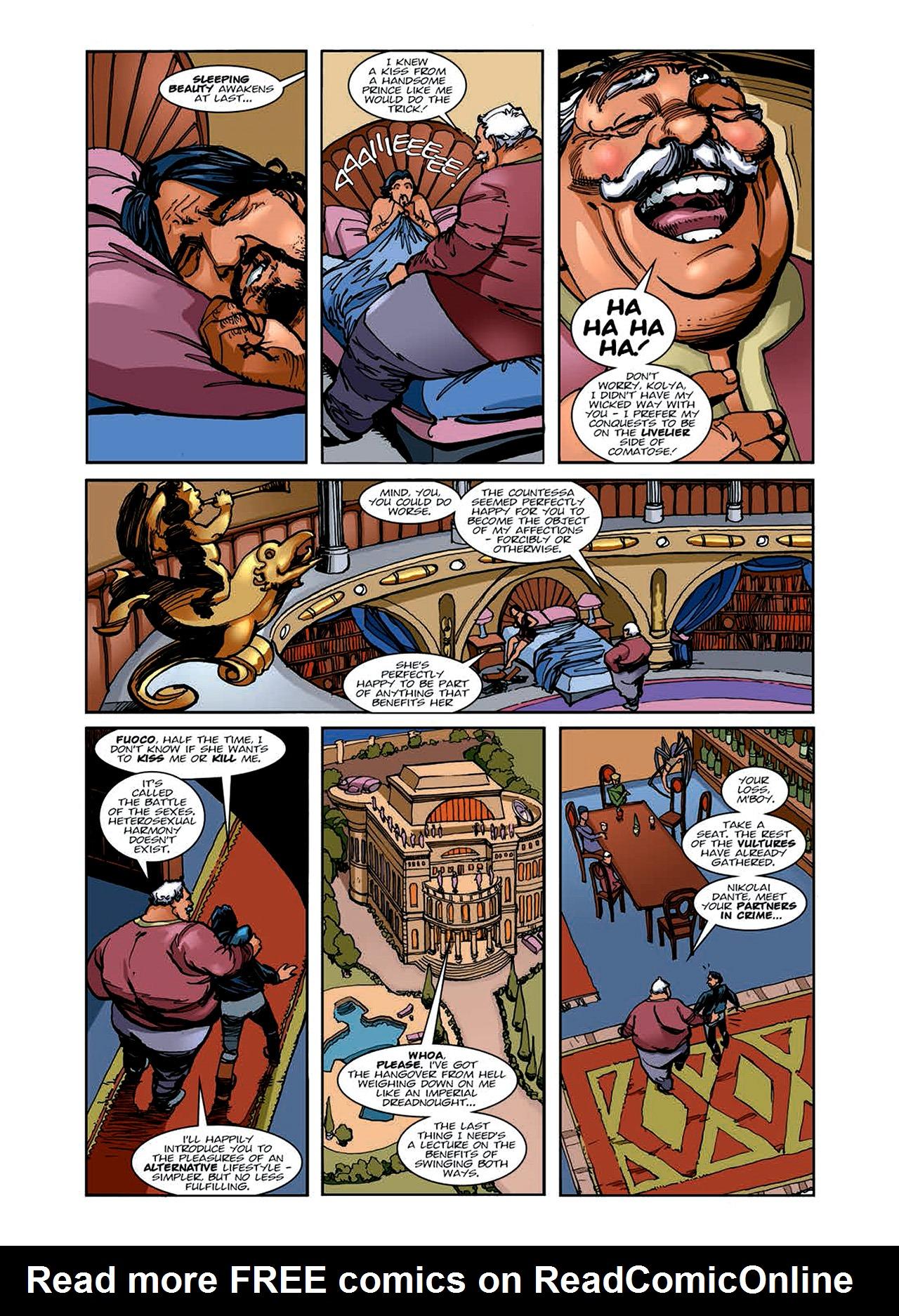 Read online Nikolai Dante comic -  Issue # TPB 6 - 46