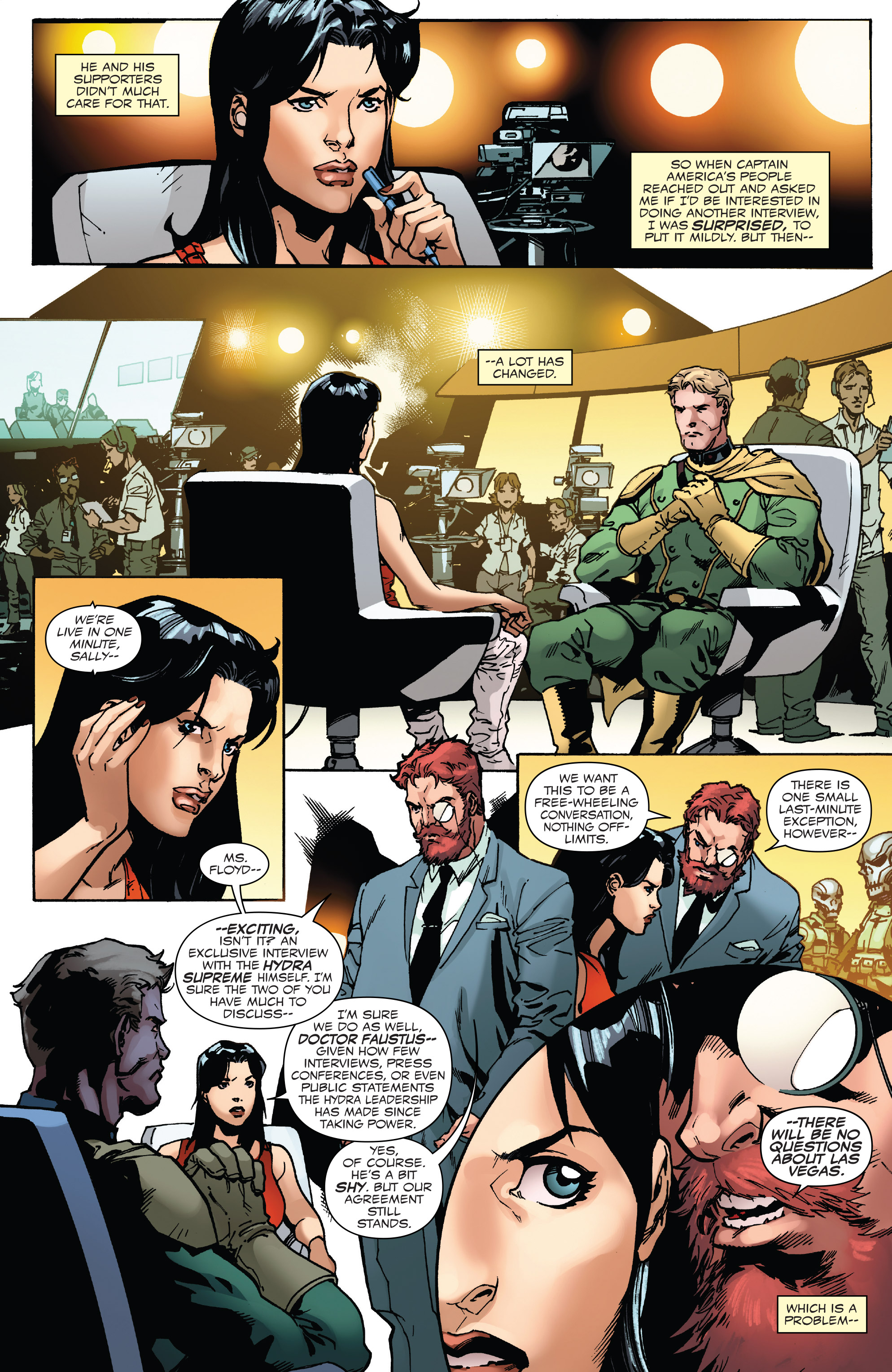 Read online Captain America: Steve Rogers comic -  Issue #17 - 4