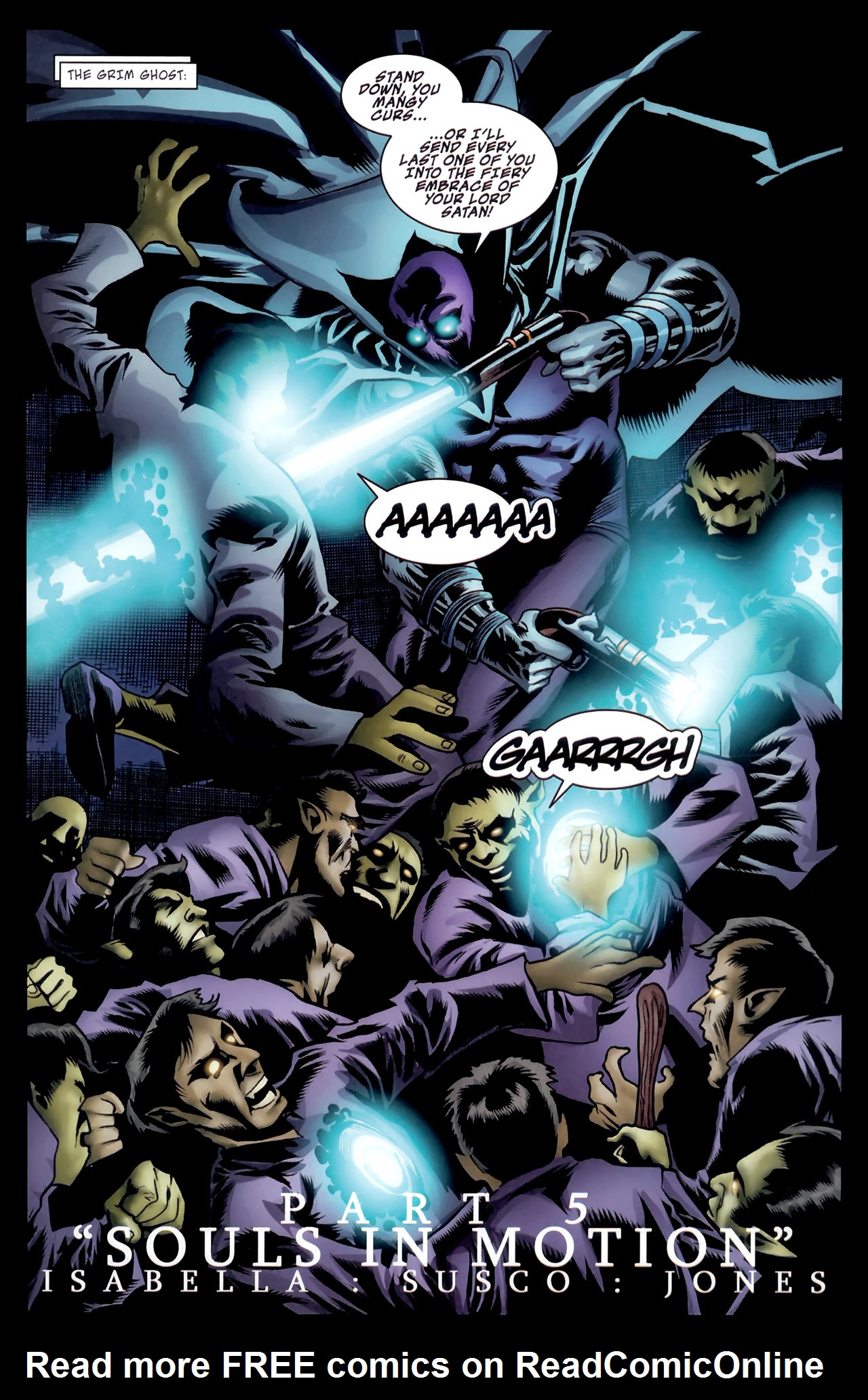Read online The Grim Ghost comic -  Issue #5 - 5