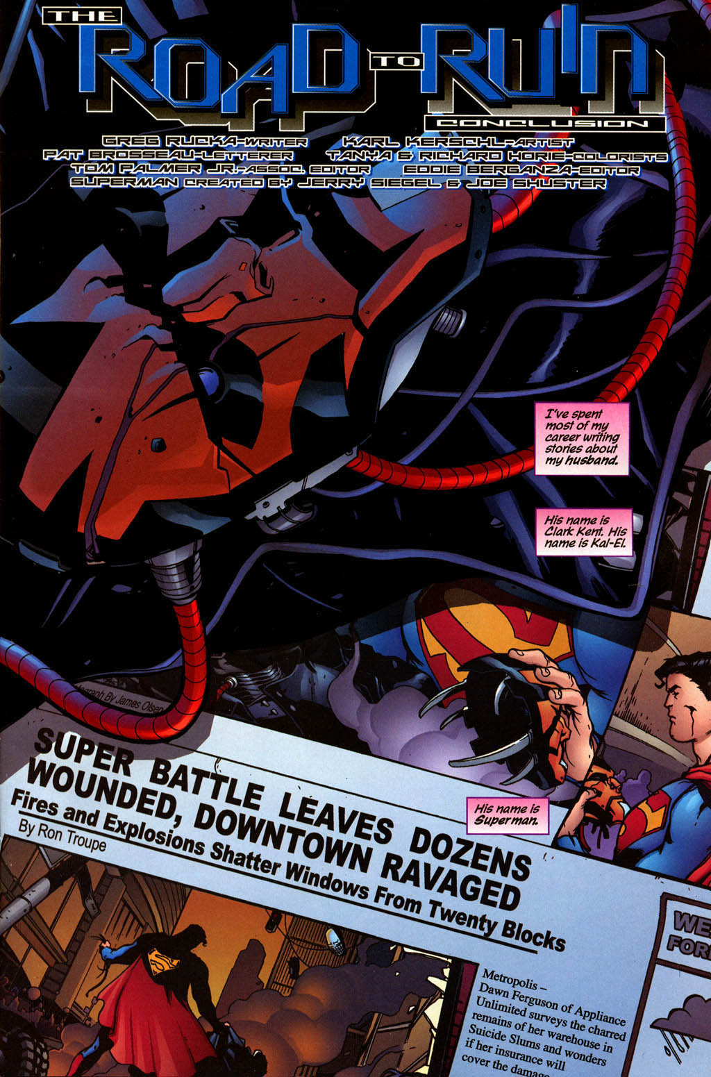 Read online Adventures of Superman (1987) comic -  Issue #640 - 2