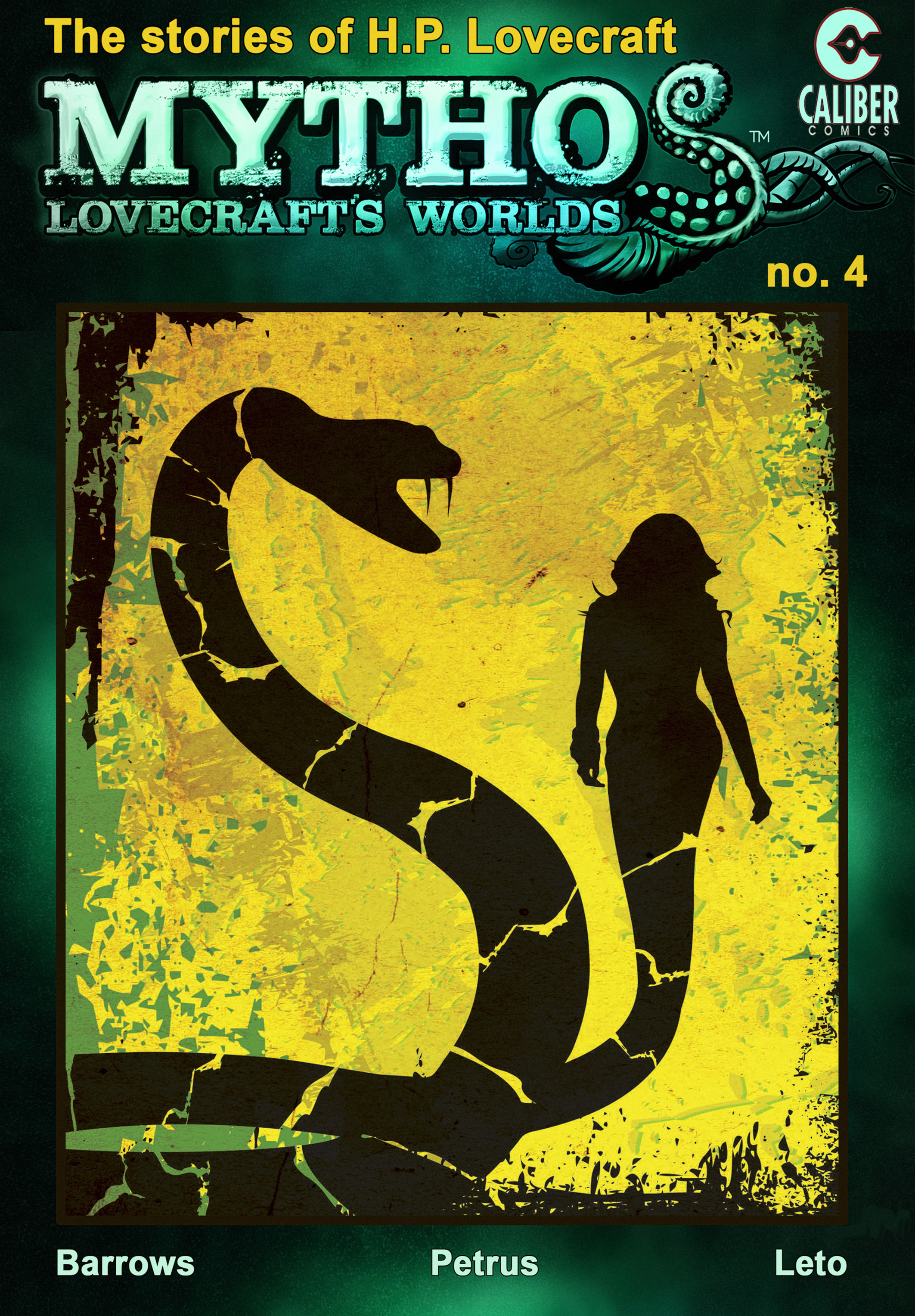 Mythos: Lovecrafts Worlds 4 Page 1