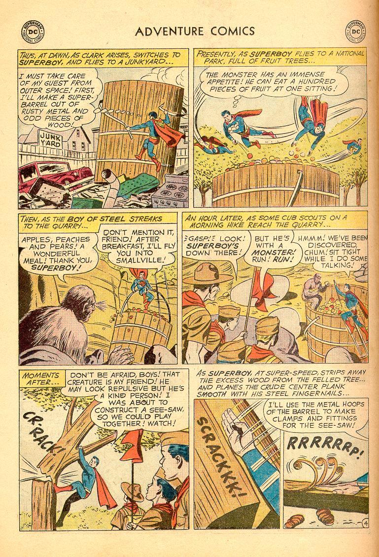 Read online Adventure Comics (1938) comic -  Issue #274 - 6