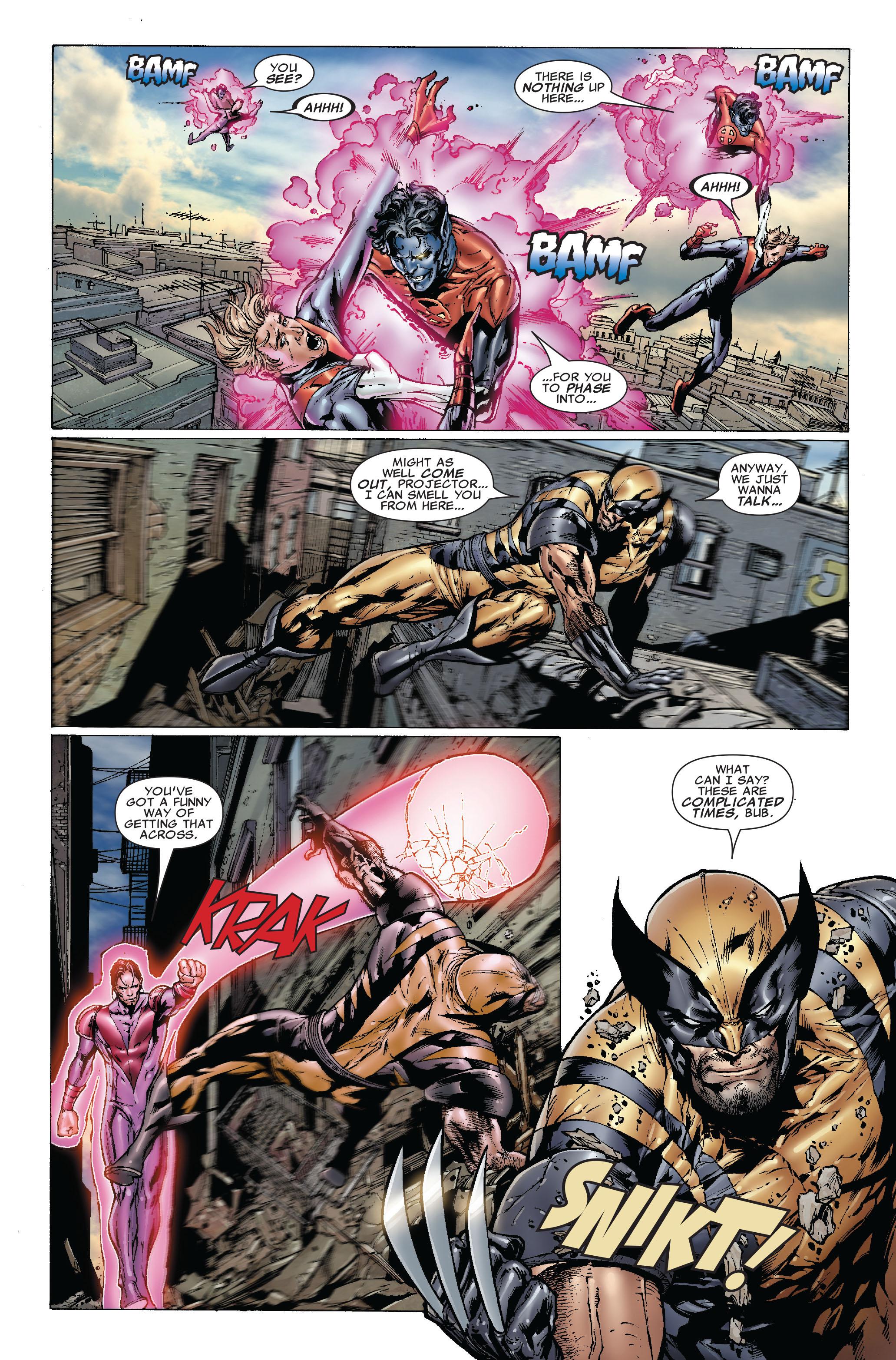 Read online Uncanny X-Men (1963) comic -  Issue #492 - 12