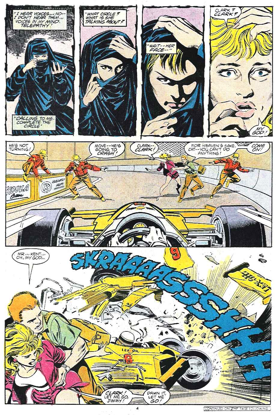 Read online Adventures of Superman (1987) comic -  Issue #435 - 5