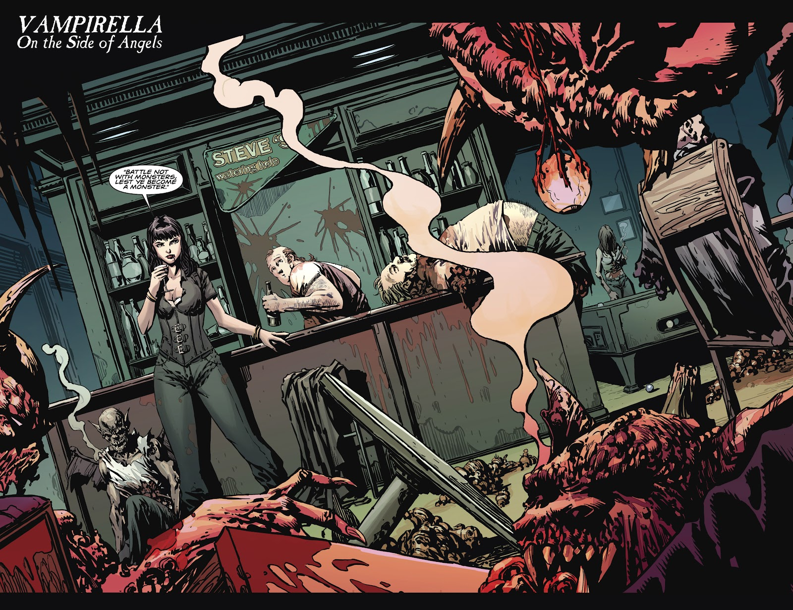 Read online Vampirella Strikes comic -  Issue #1 - 9