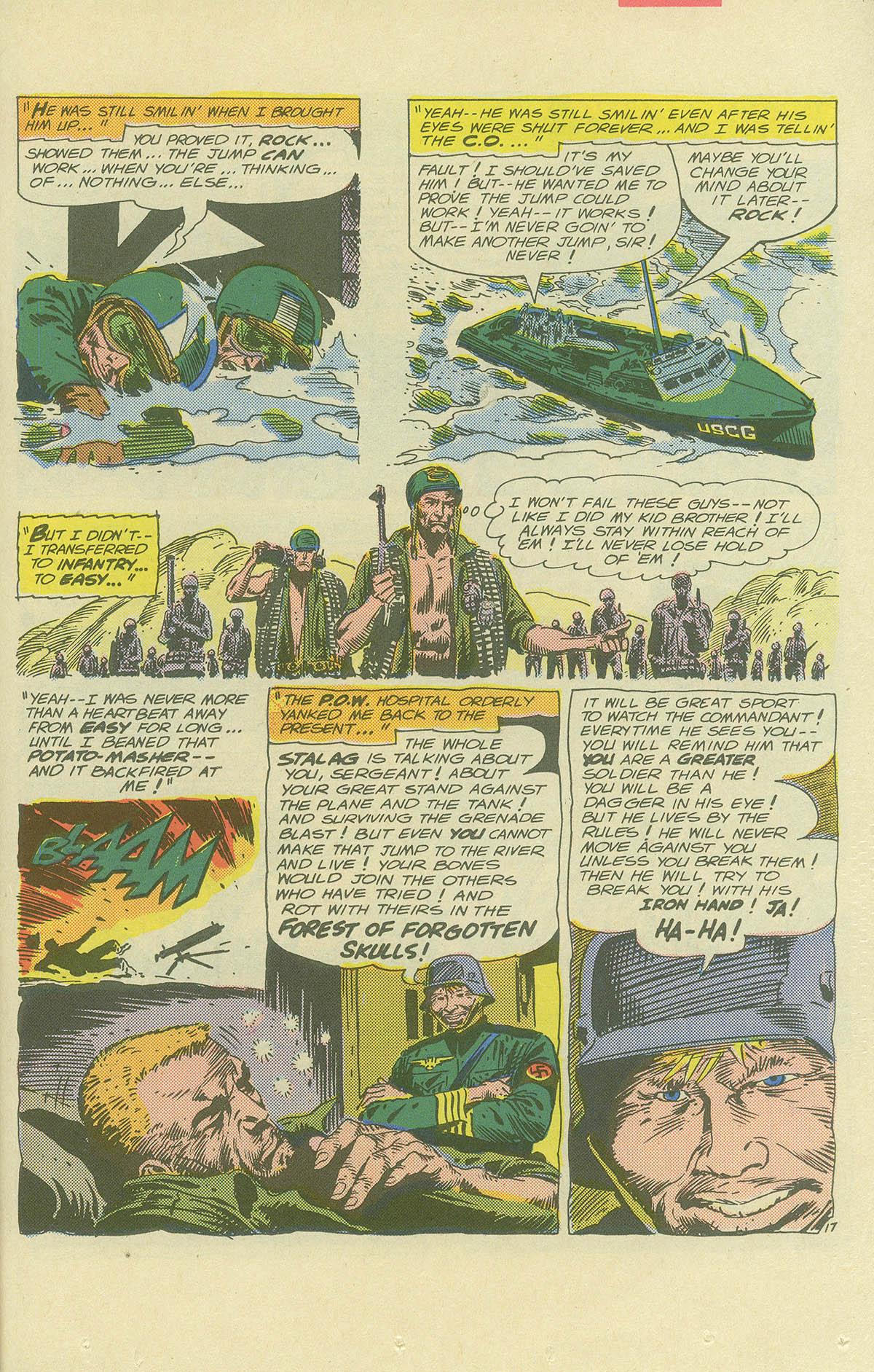 Read online Sgt. Rock comic -  Issue #404 - 25