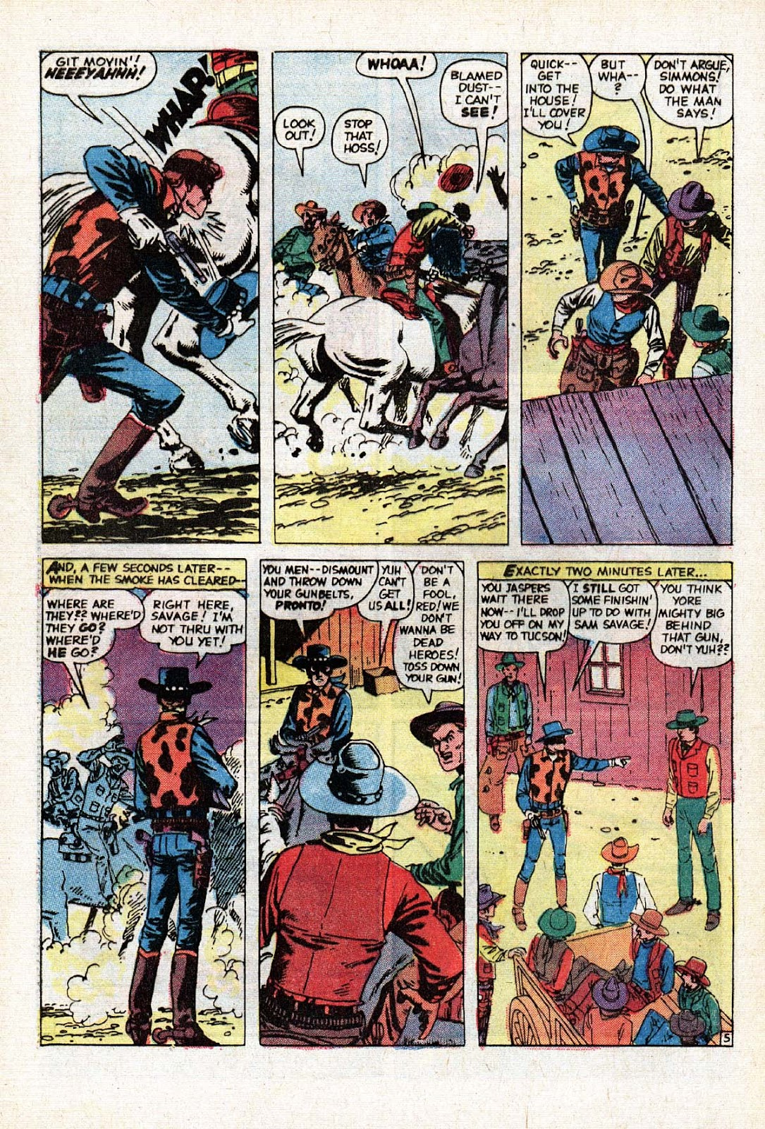 The Mighty Marvel Western issue 15 - Page 38