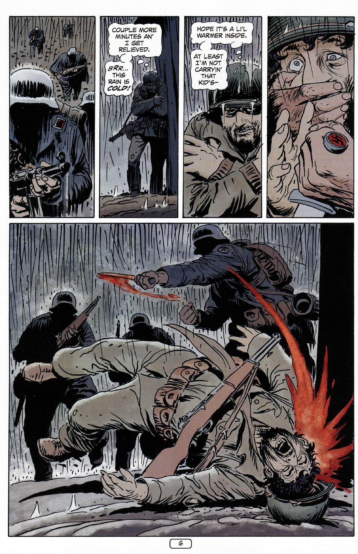 Read online Sgt. Rock: The Prophecy comic -  Issue #3 - 7