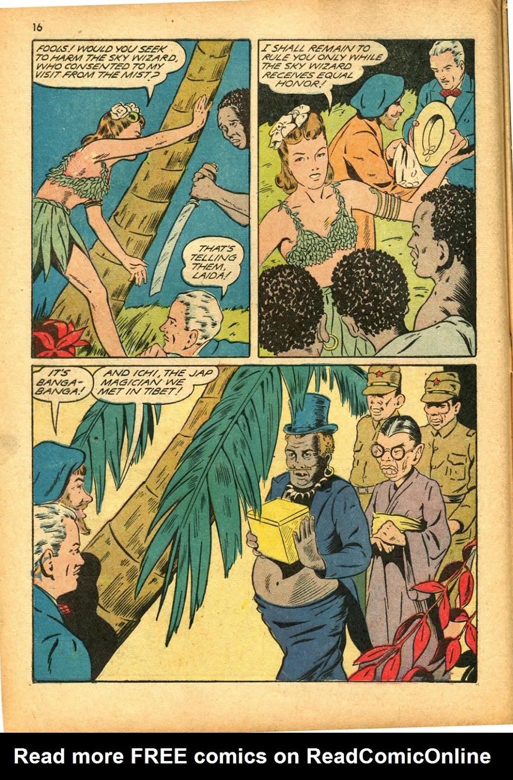 Read online Super-Magician Comics comic -  Issue #15 - 16