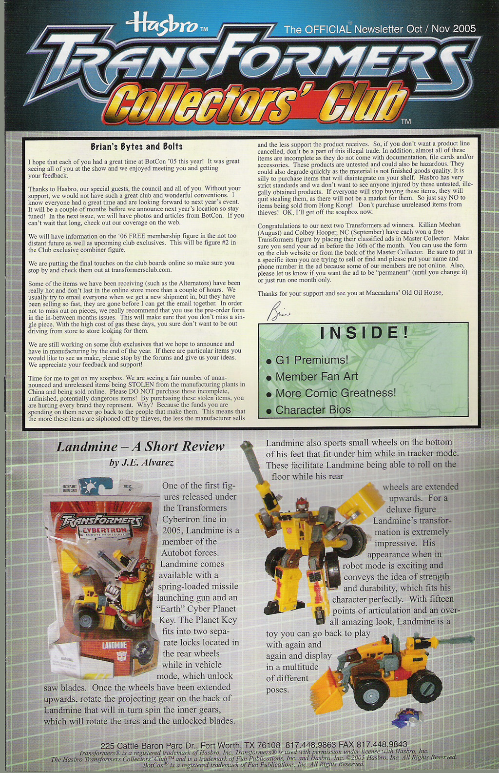 Read online Transformers: Collectors' Club comic -  Issue #5 - 1