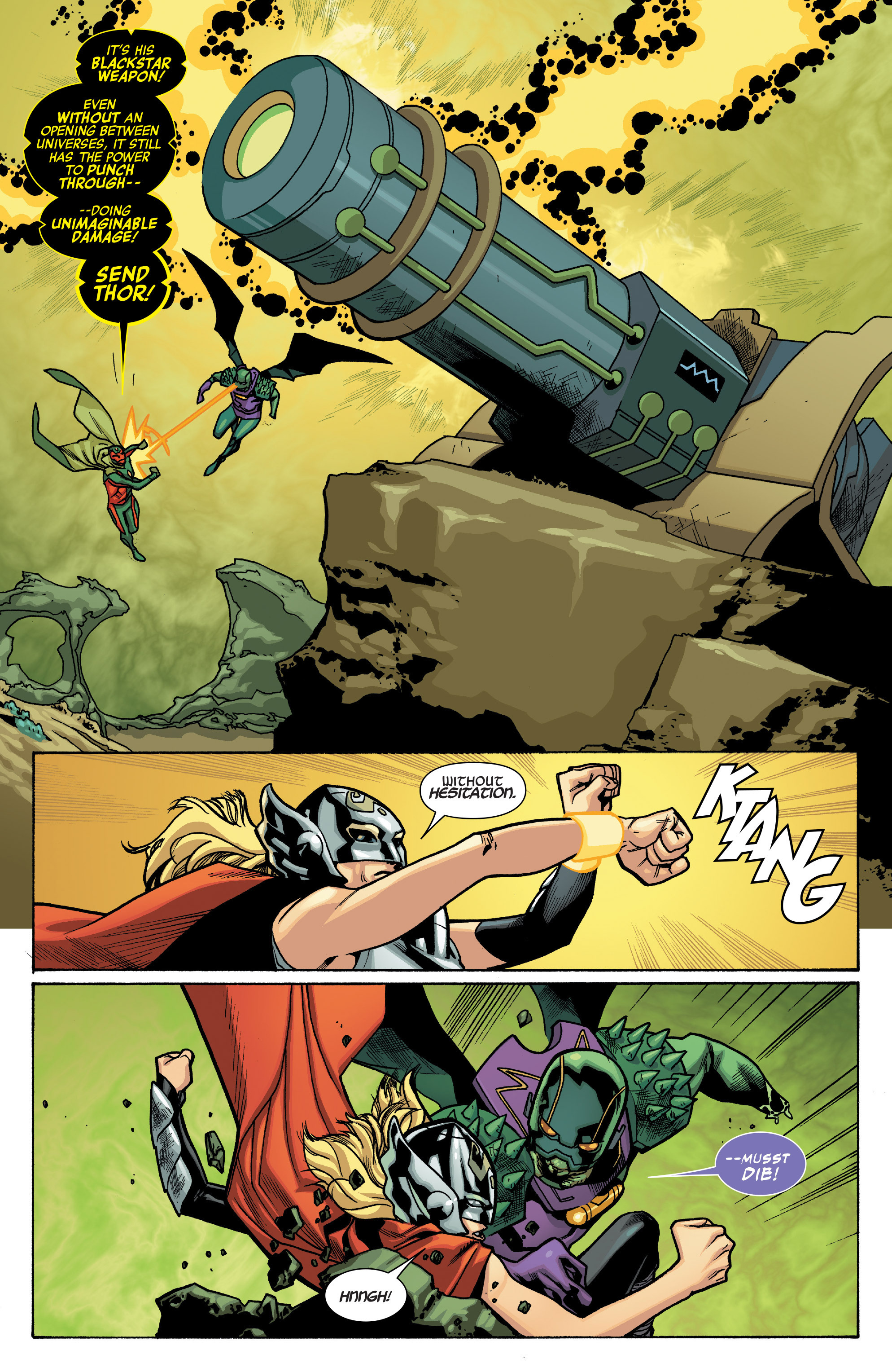 Read online All-New, All-Different Avengers comic -  Issue #12 - 7