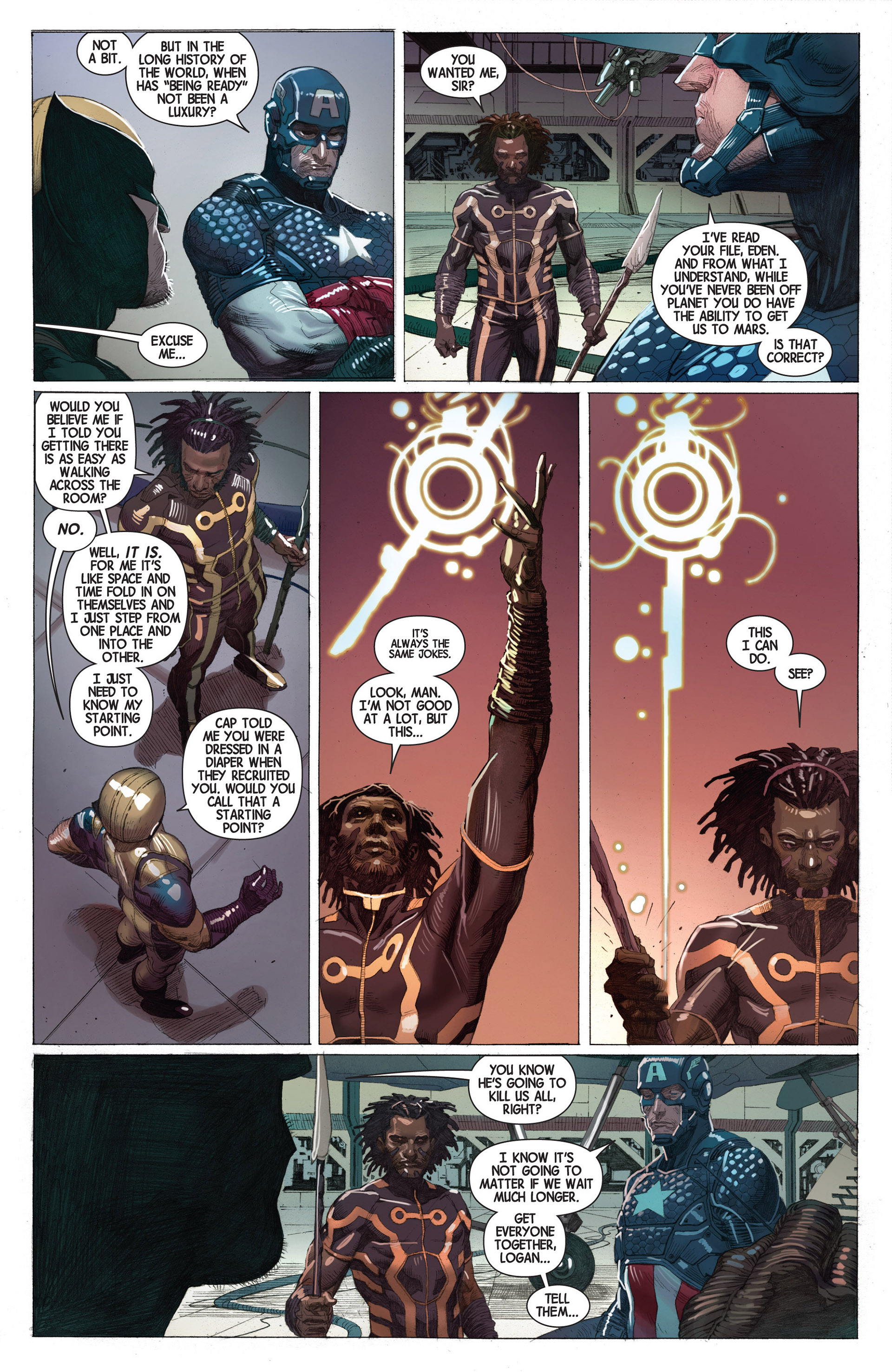 Read online Avengers (2013) comic -  Issue #2 - 22