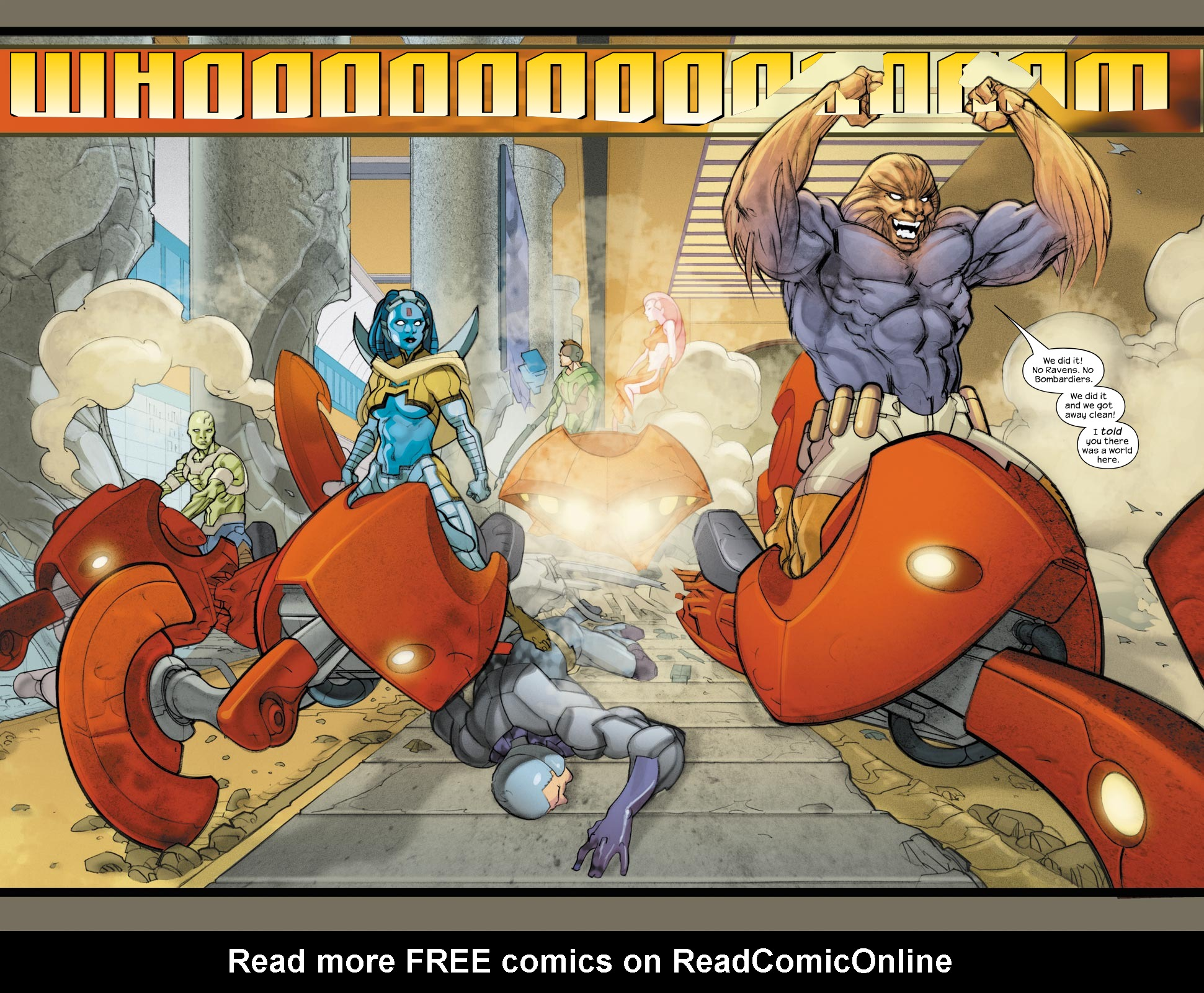 Read online Ultimate Fantastic Four (2004) comic -  Issue #33 - 4