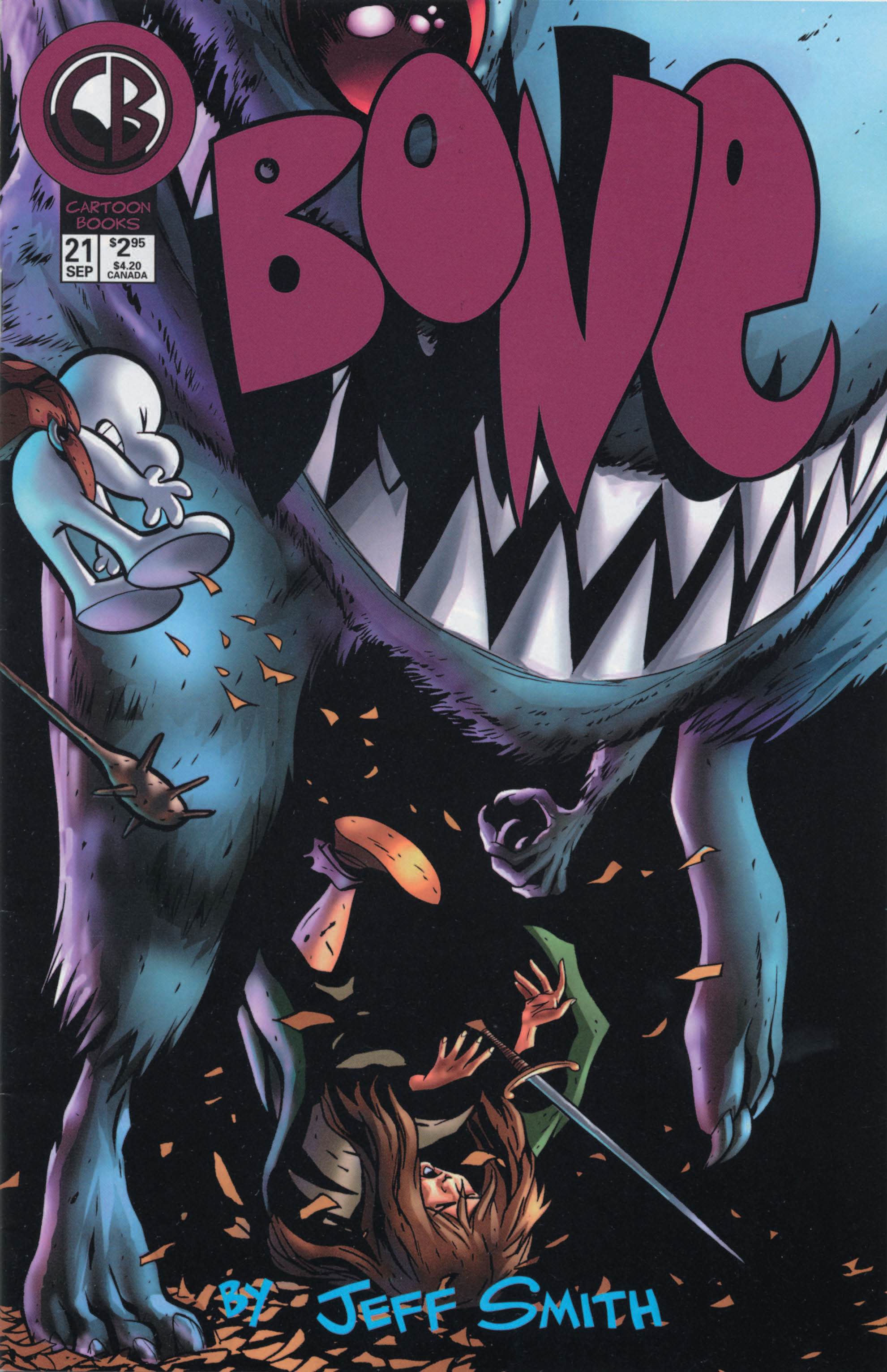 Bone 1991 Issue 21