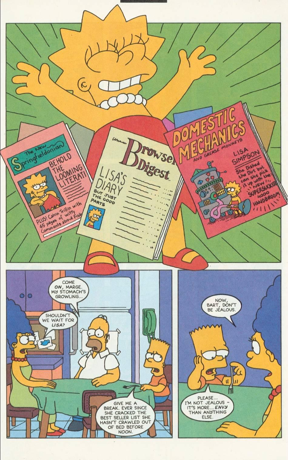 Read online Simpsons Comics comic -  Issue #9 - 10