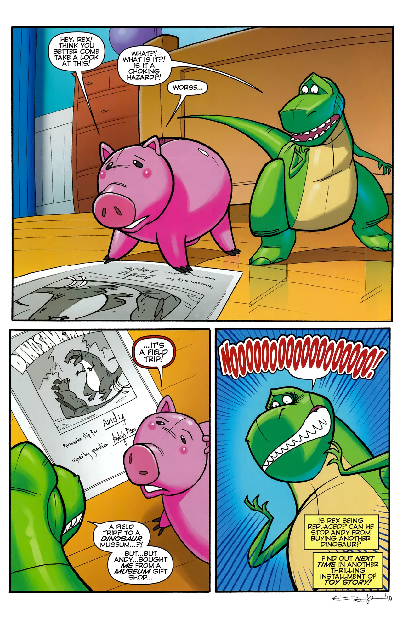 Read online Toy Story (2009) comic -  Issue #5 - 23
