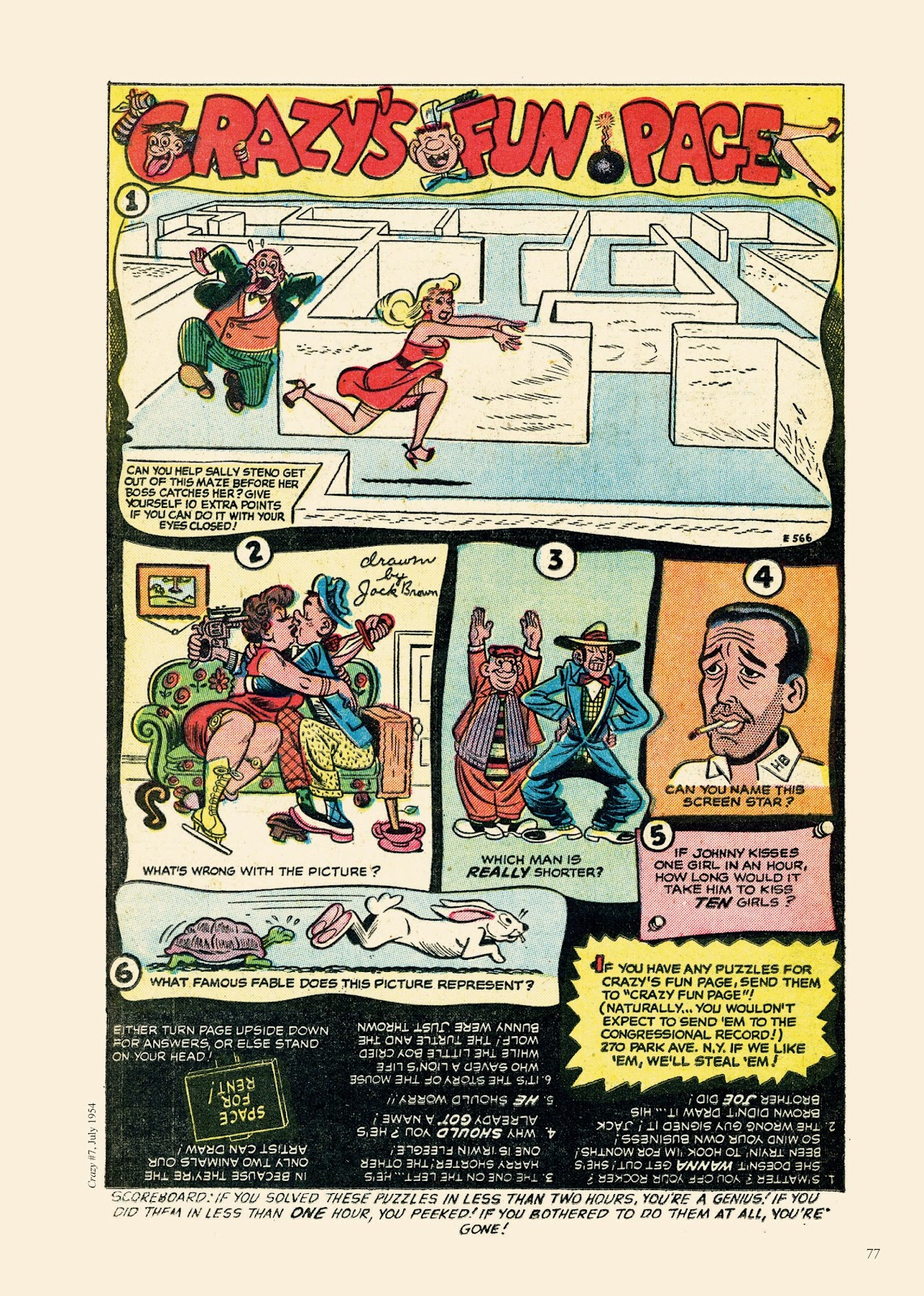 Read online Sincerest Form of Parody: The Best 1950s MAD-Inspired Satirical Comics comic -  Issue # TPB (Part 1) - 78