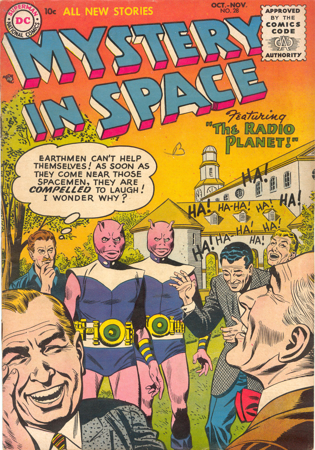 Mystery in Space (1951) issue 28 - Page 1