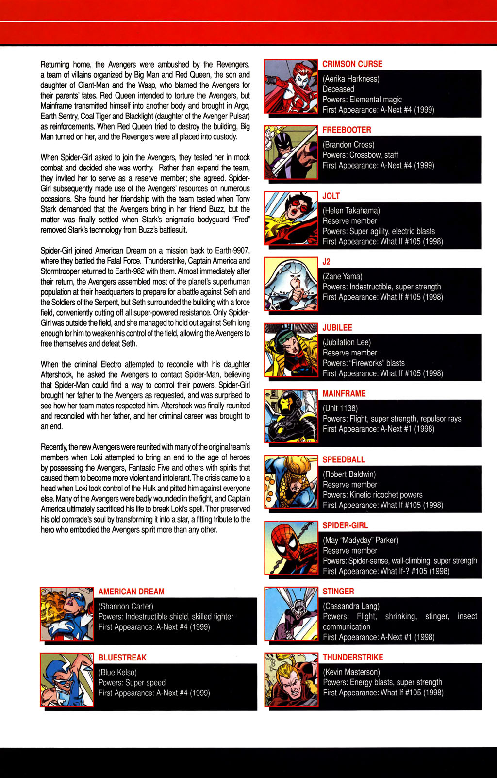 Read online All-New Official Handbook of the Marvel Universe A to Z comic -  Issue #1 - 44