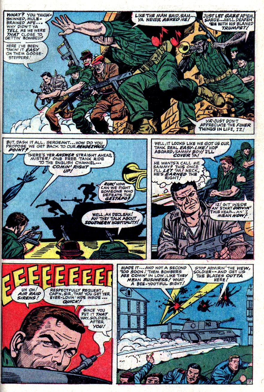 Read online Sgt. Fury comic -  Issue #31 - 27