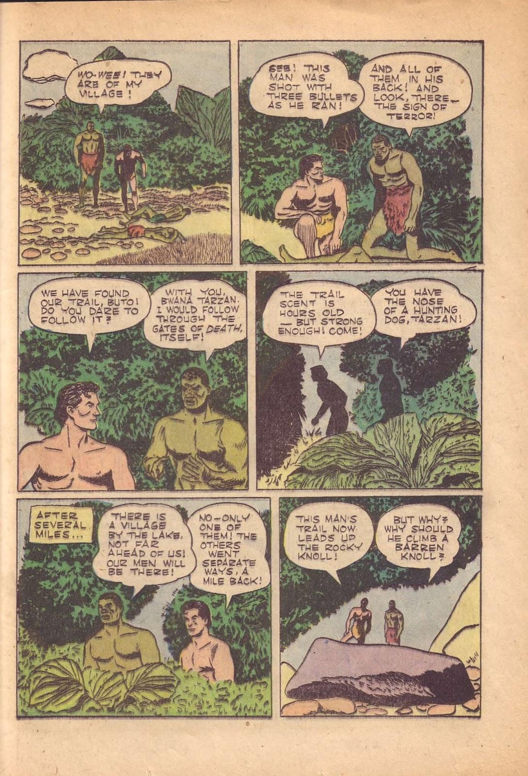 Tarzan (1948) issue 50 - Page 33