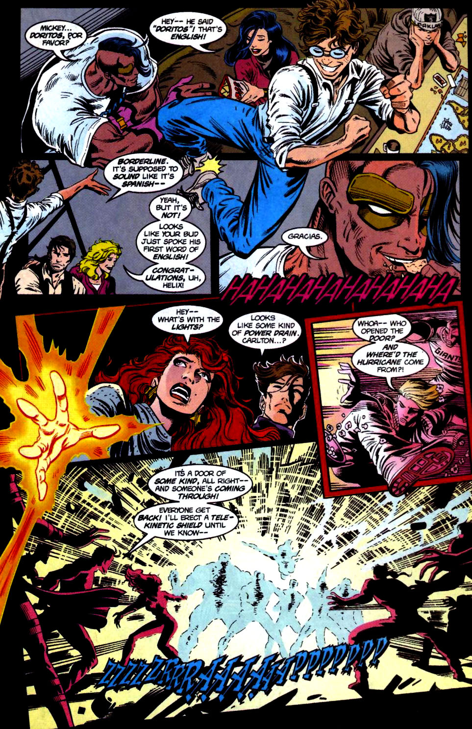 The New Warriors Issue #68 #72 - English 10