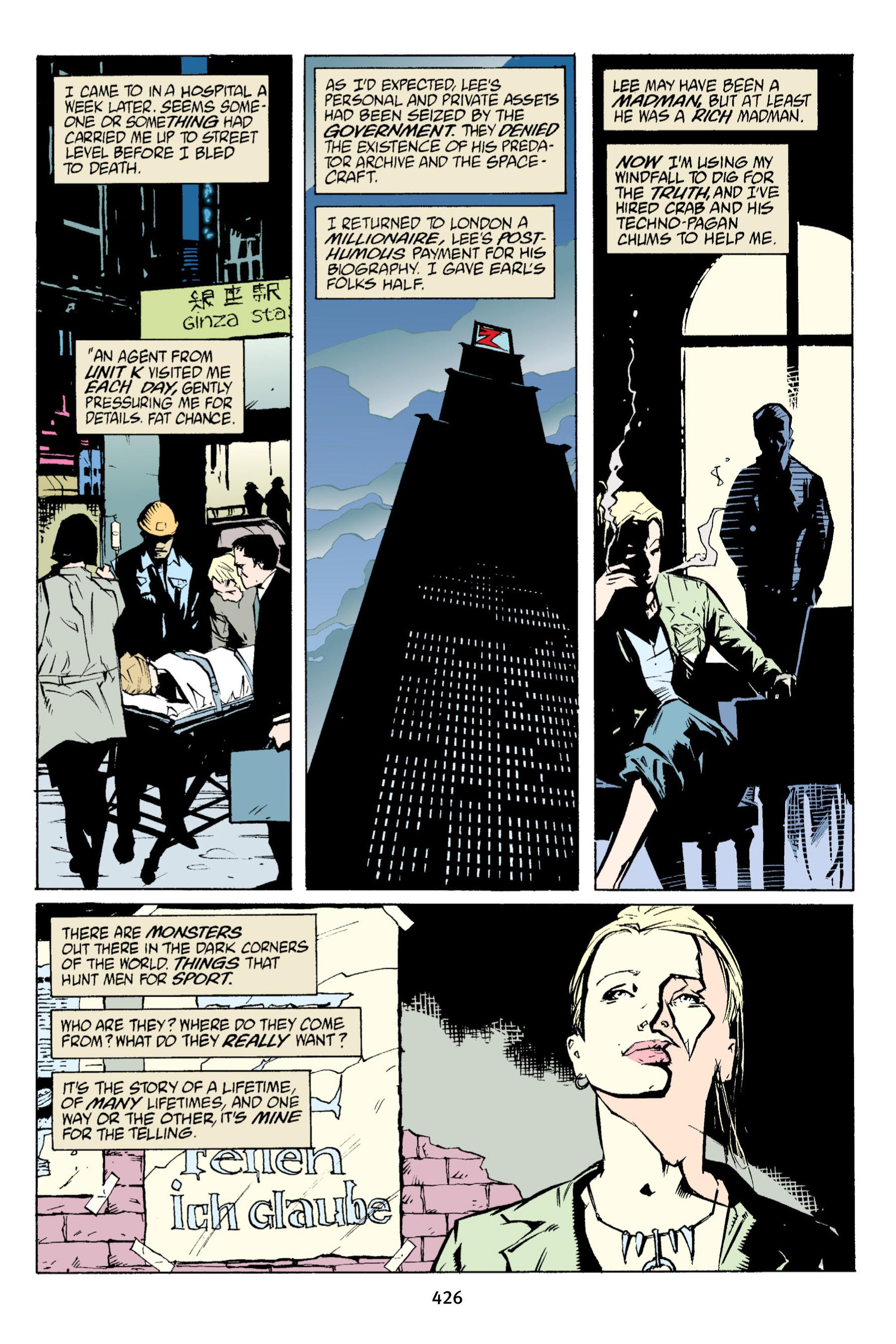 Read online Aliens vs. Predator Omnibus comic -  Issue # _TPB 1 Part 4 - 116