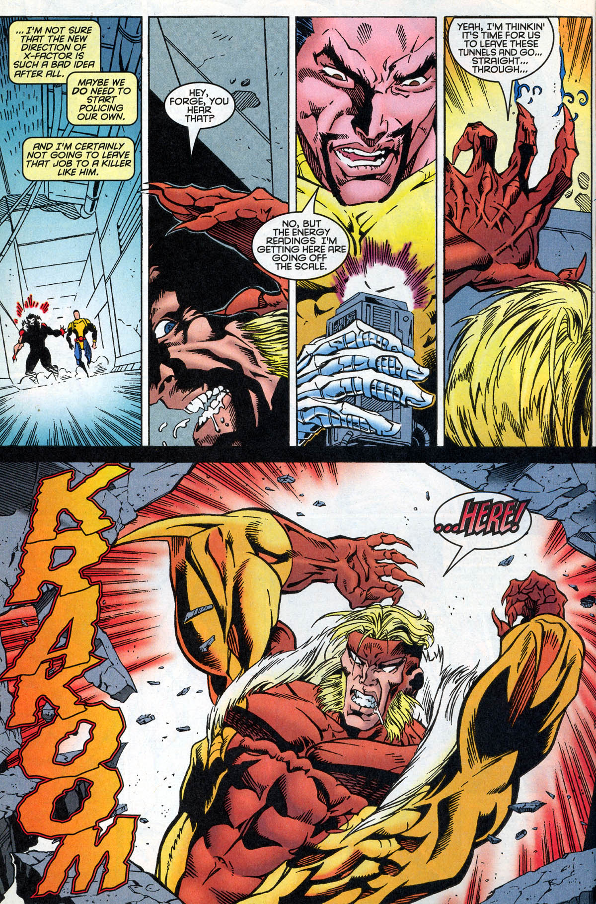 Read online X-Factor (1986) comic -  Issue #126 - 13