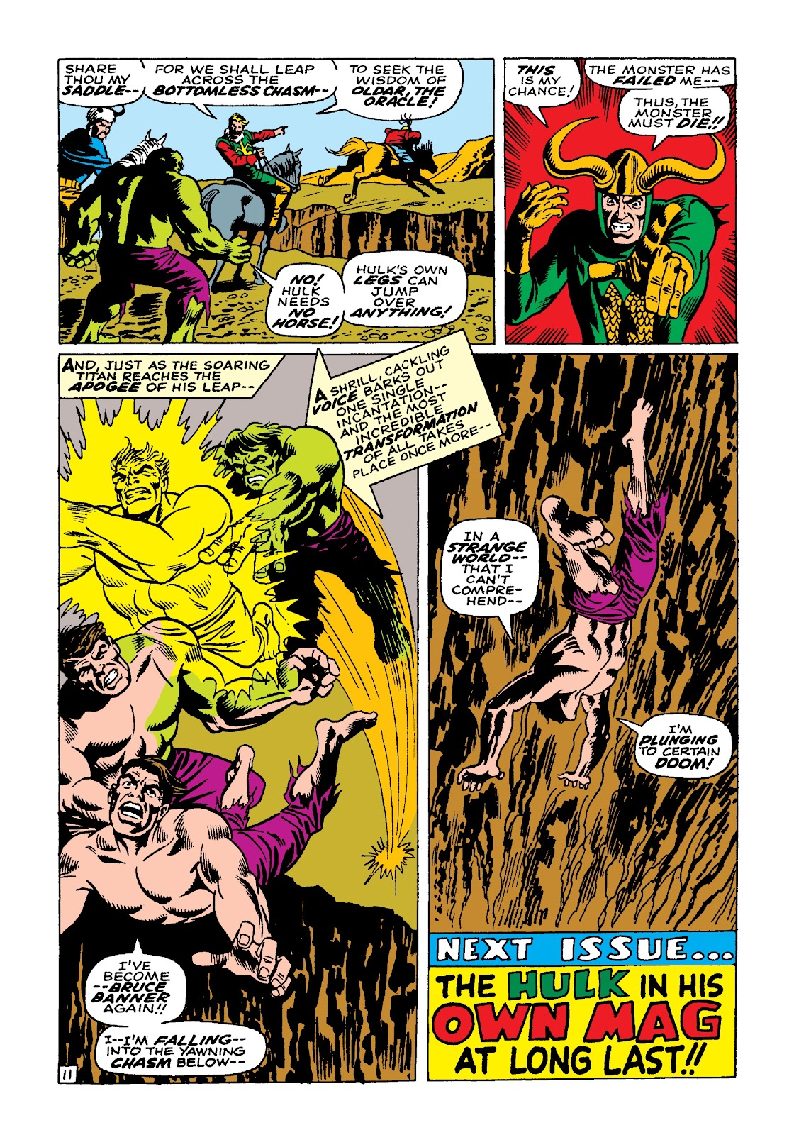 Read online Marvel Masterworks: The Incredible Hulk comic -  Issue # TPB 3 (Part 3) - 62