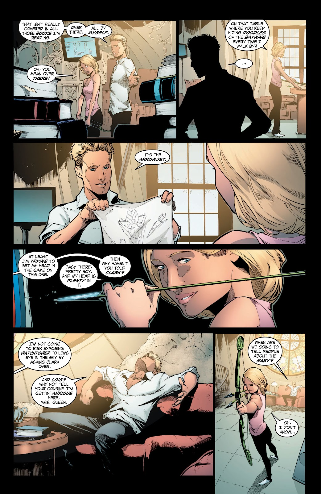 Read online Smallville Season 11 [II] comic -  Issue # TPB 3 - 40