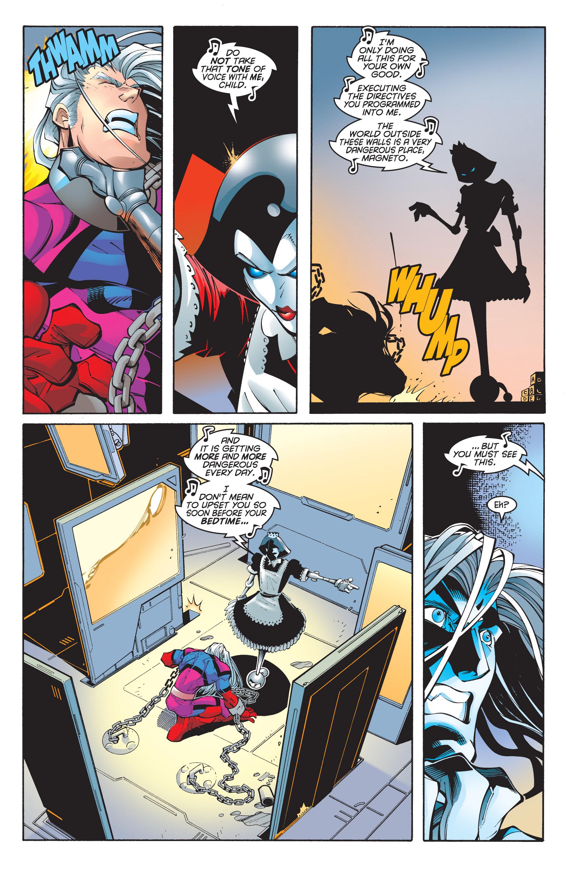 Read online Uncanny X-Men (1963) comic -  Issue #348 - 11