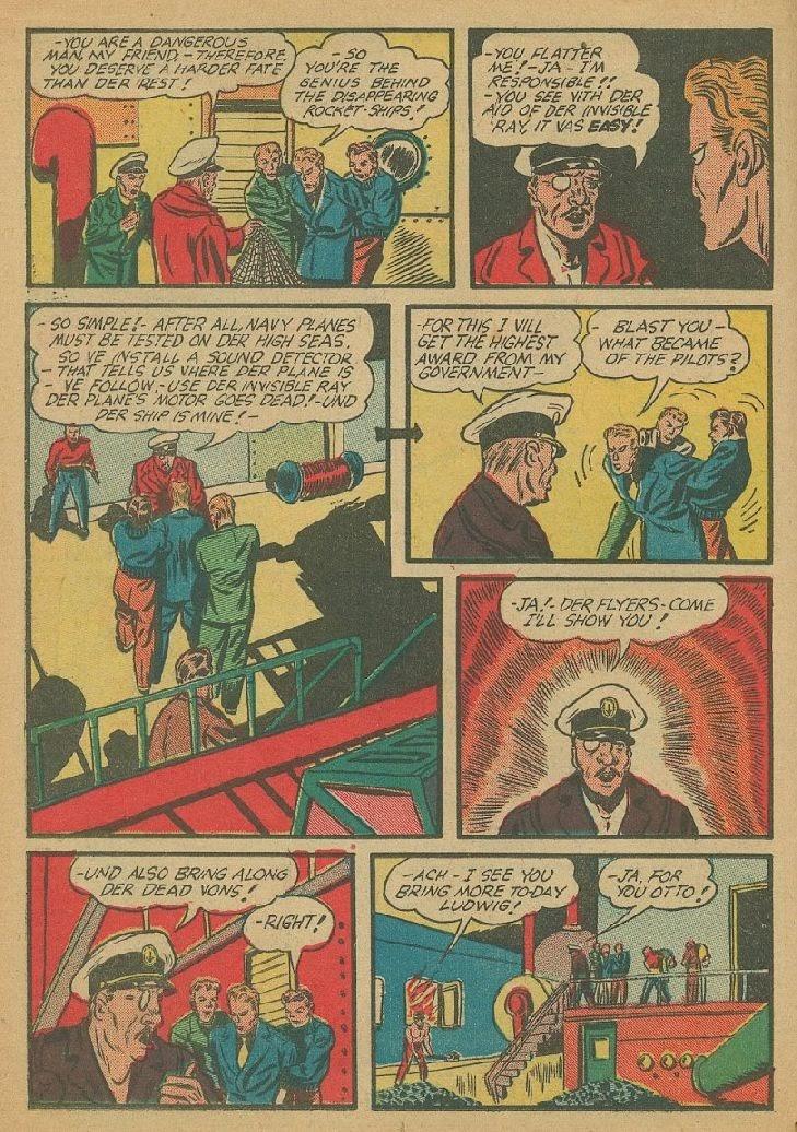 Read online Amazing Man Comics comic -  Issue #9 - 27