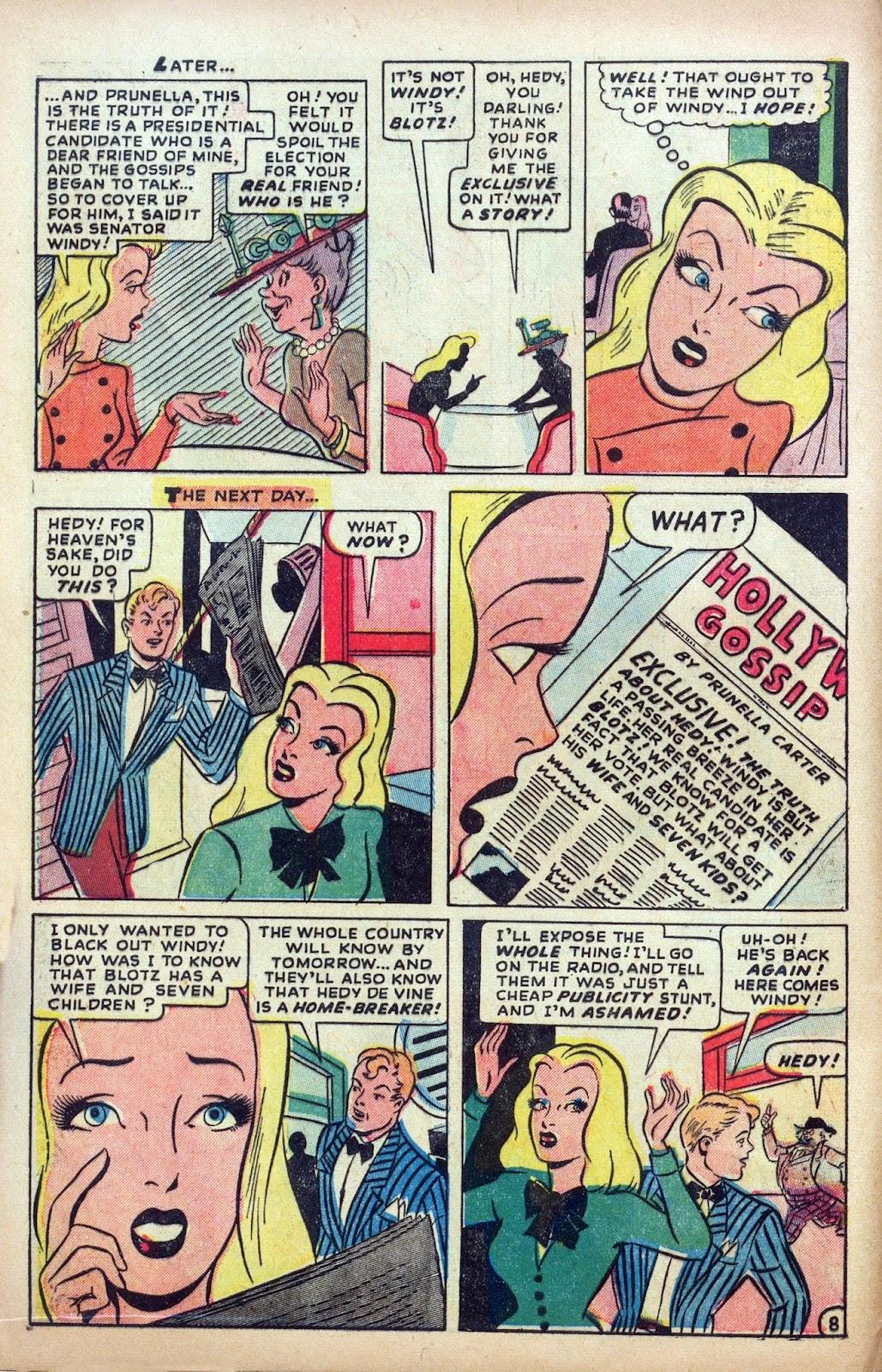 Hedy De Vine Comics issue 31 - Page 10