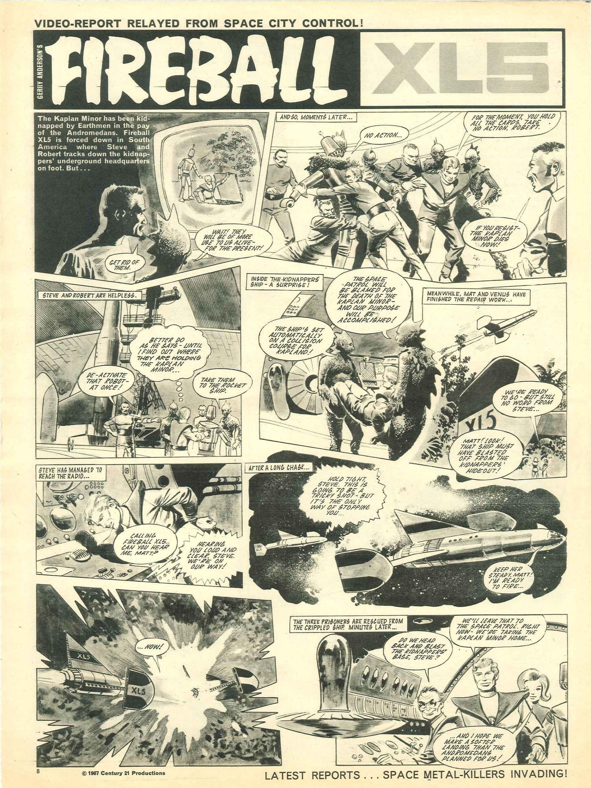Read online TV Century 21 (TV 21) comic -  Issue #154 - 8