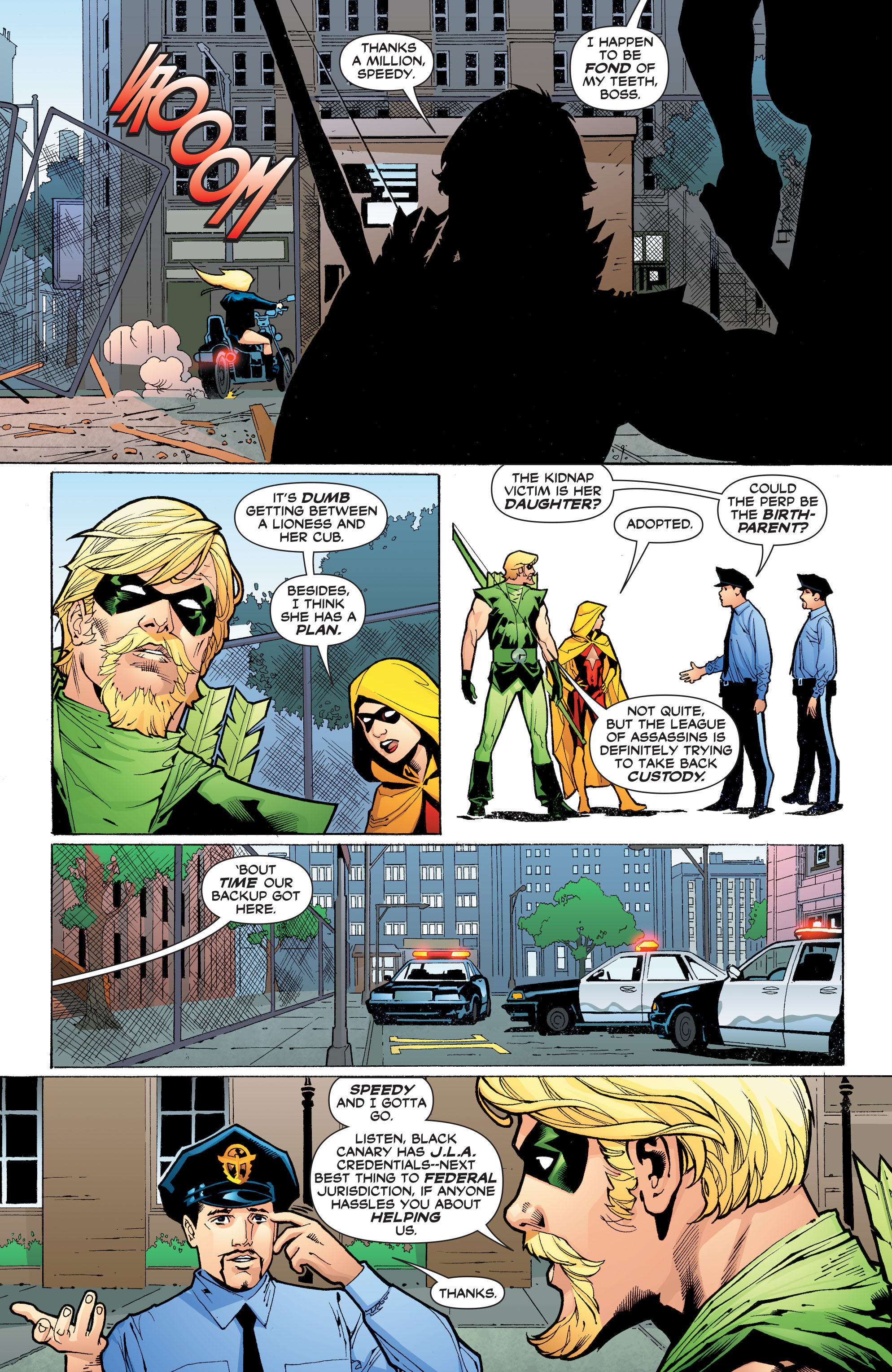 Read online Black Canary (2007) comic -  Issue #3 - 7