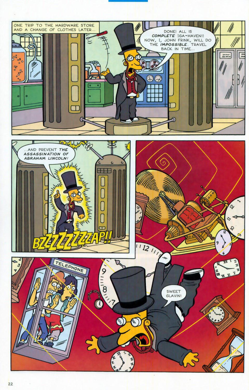 Read online Simpsons Comics comic -  Issue #78 - 23