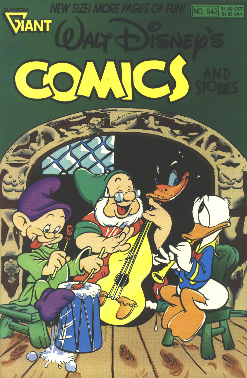 Walt Disney's Comics and Stories issue 543 - Page 1