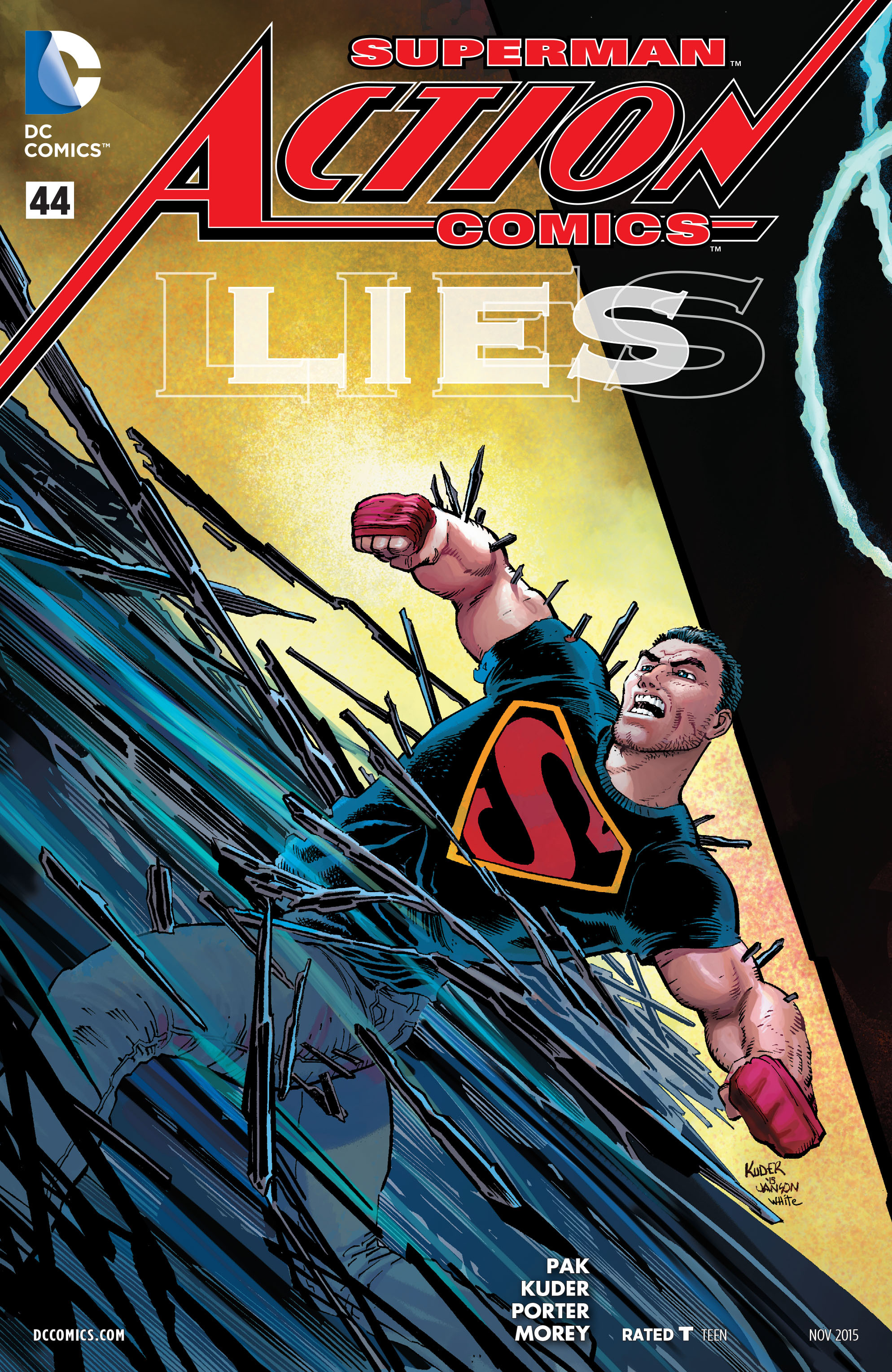 Read online Action Comics (2011) comic -  Issue #44 - 1