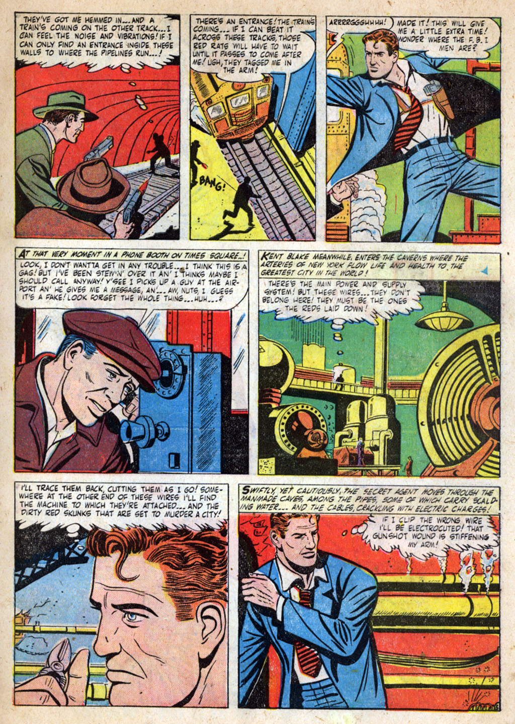 Kent Blake of the Secret Service issue 4 - Page 7