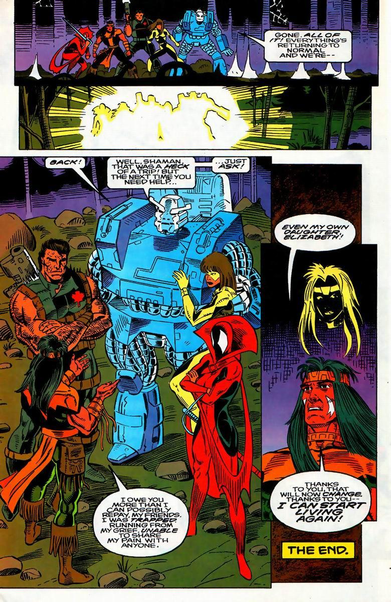 Read online Alpha Flight (1983) comic -  Issue #126 - 16