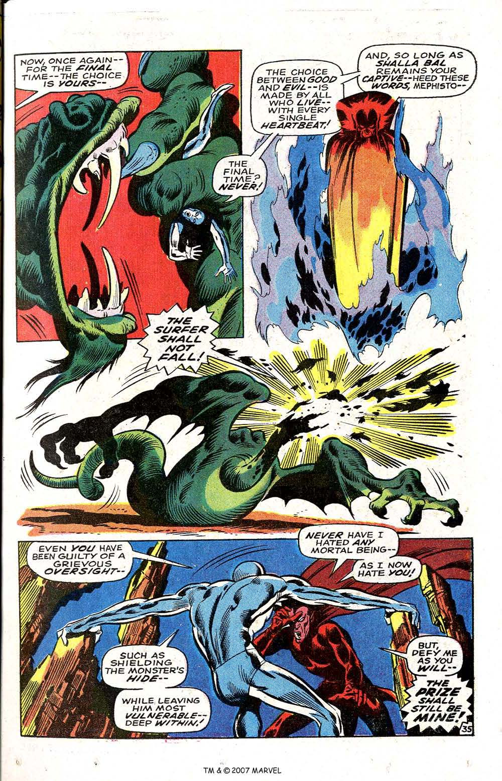 Silver Surfer (1968) issue 3 - Page 43