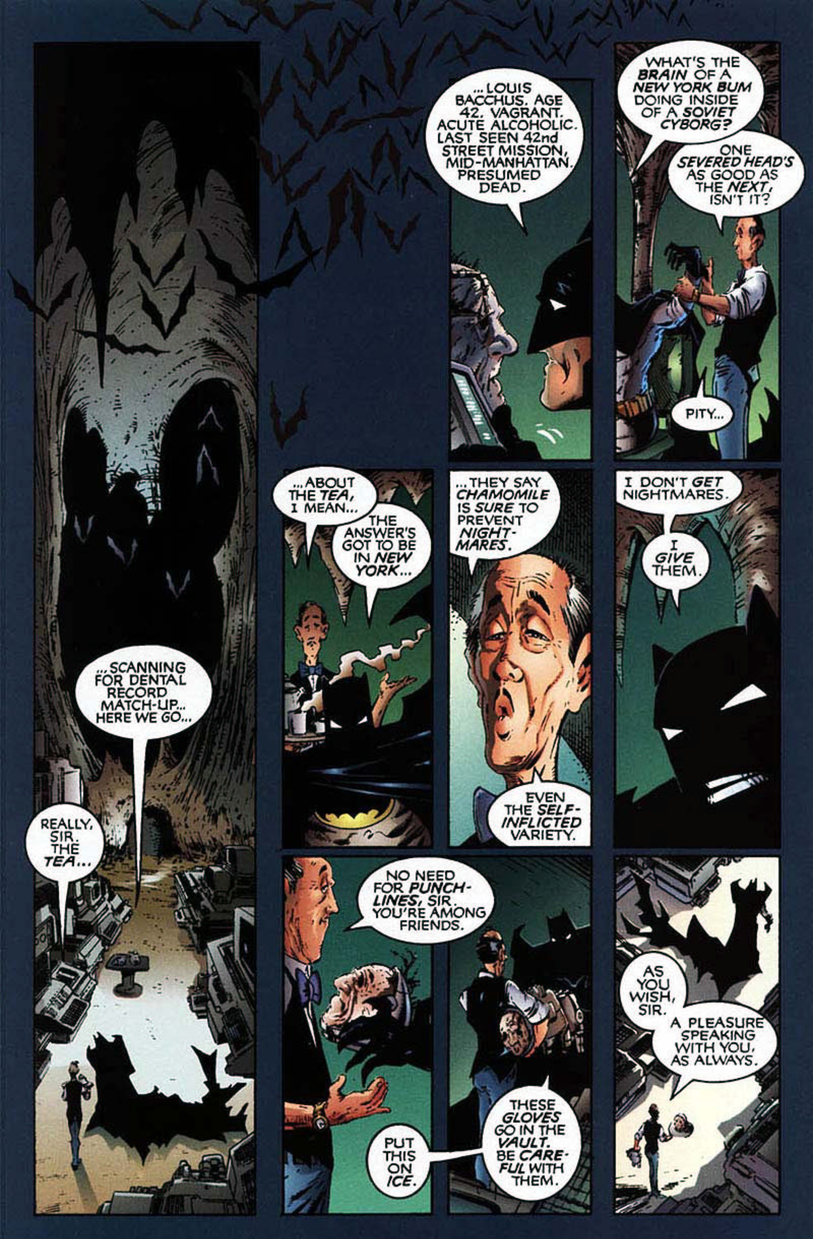Read online Spawn-Batman comic -  Issue # Full - 11
