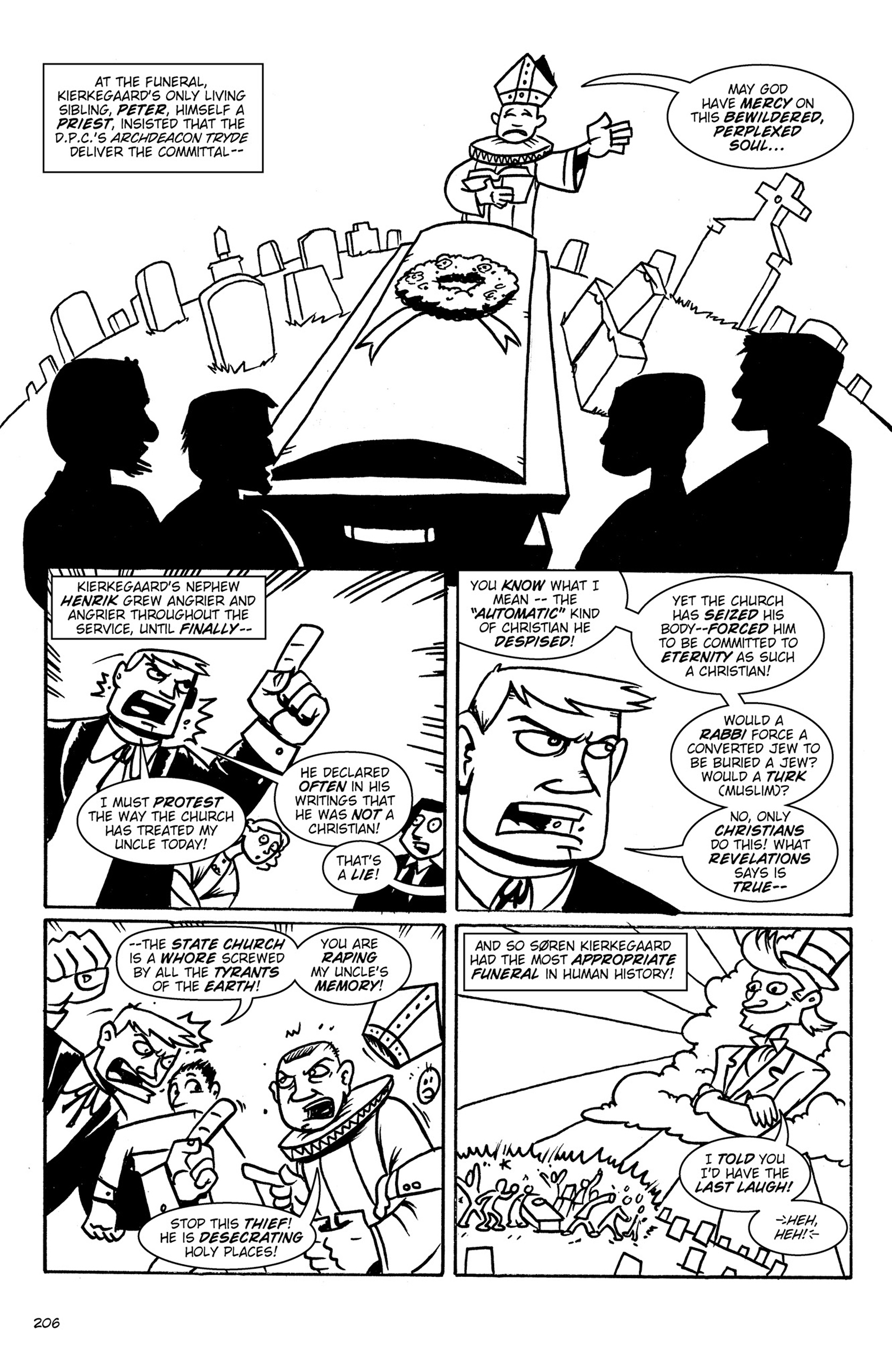 Read online Action Philosophers! comic -  Issue #Action Philosophers! TPB (Part 2) - 34