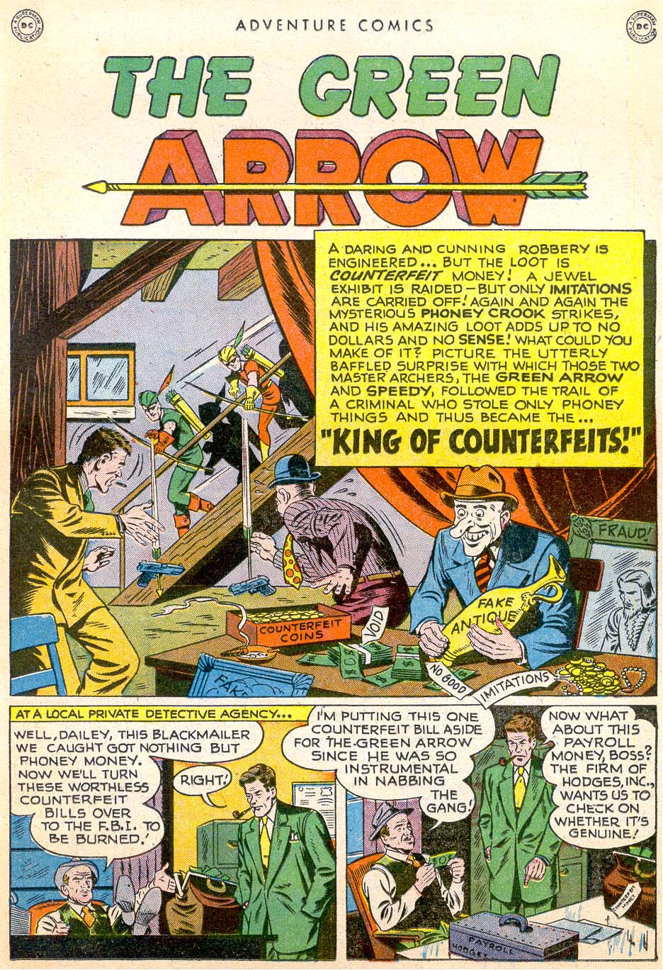 Read online Adventure Comics (1938) comic -  Issue #144 - 13