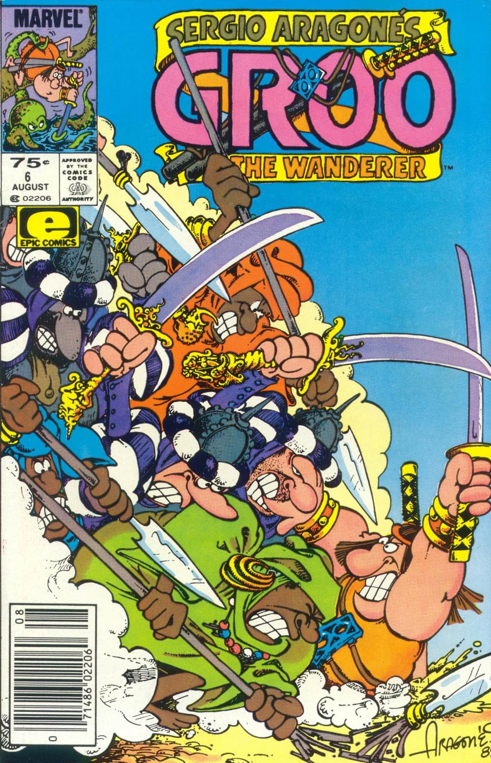 Read online Sergio Aragonés Groo the Wanderer comic -  Issue #6 - 1