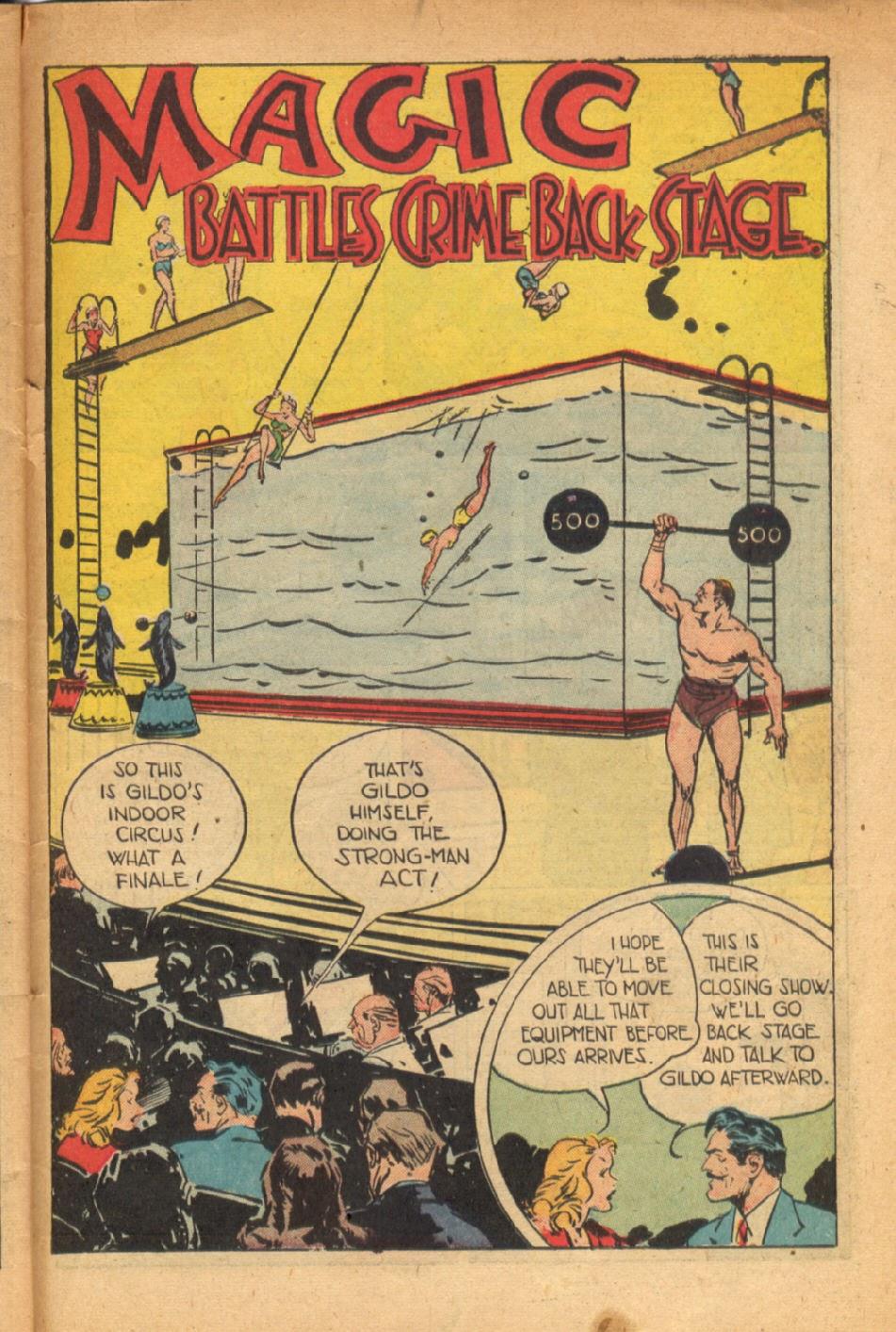 Read online Super-Magician Comics comic -  Issue #54 - 42