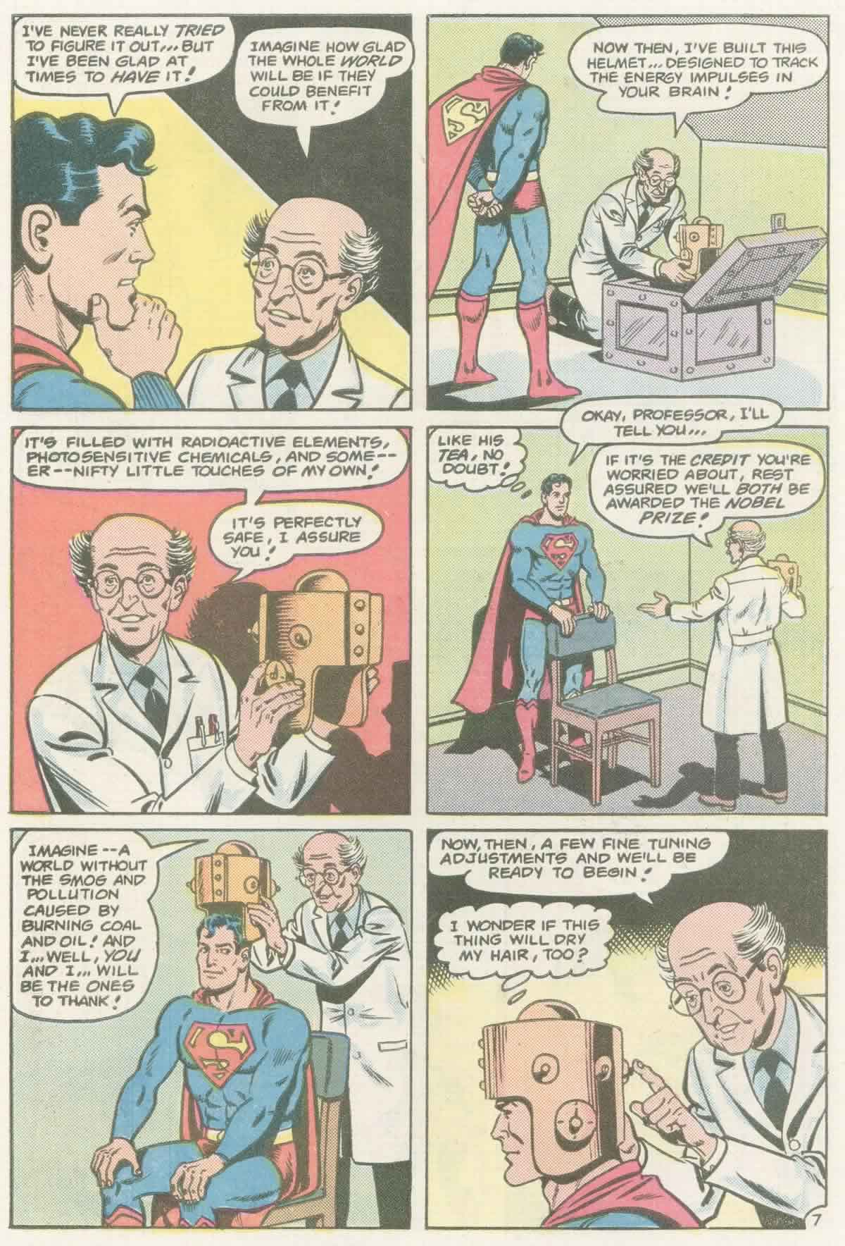 Read online Action Comics (1938) comic -  Issue #558 - 8