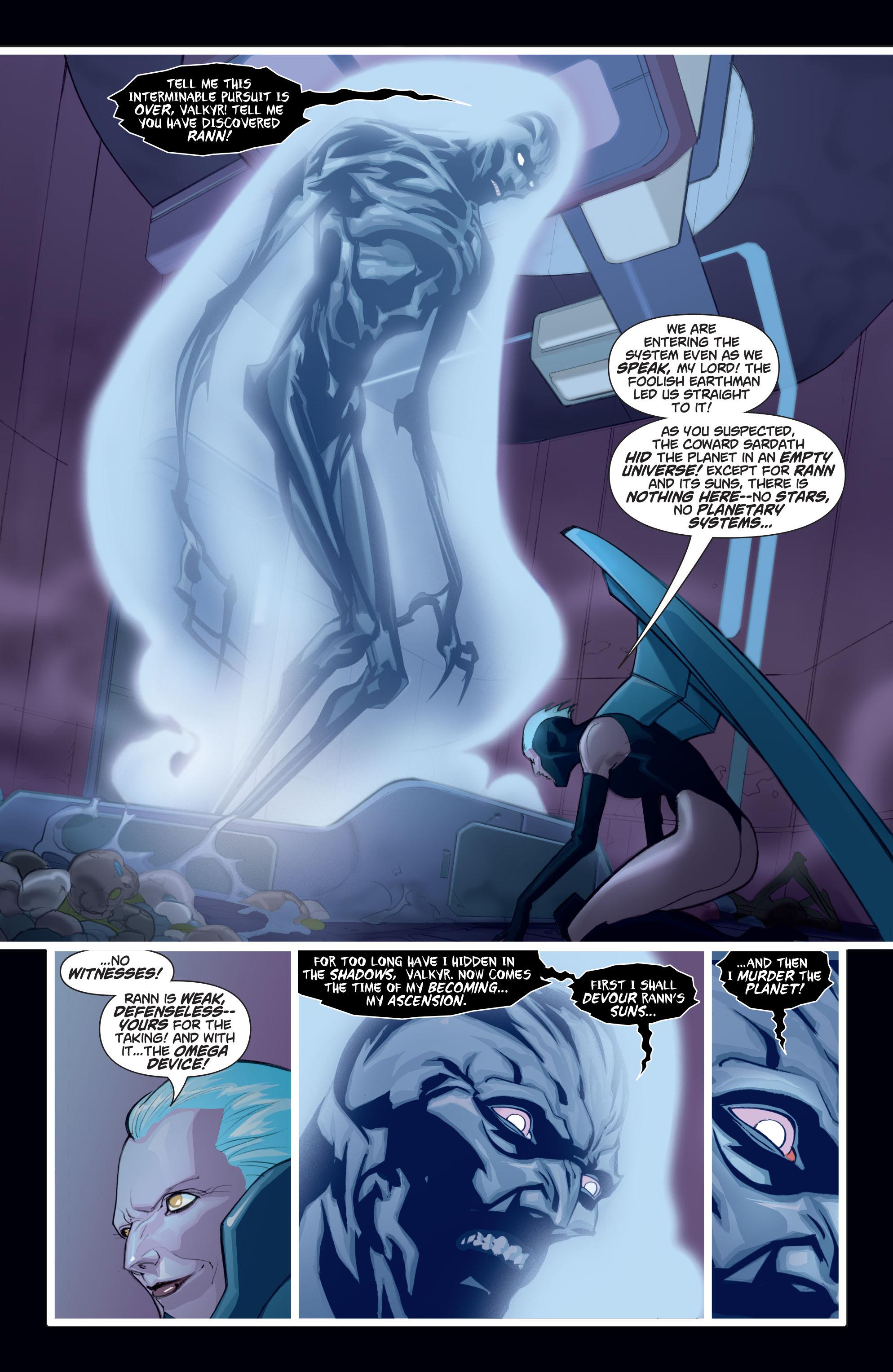 Read online Adam Strange (2004) comic -  Issue #7 - 13