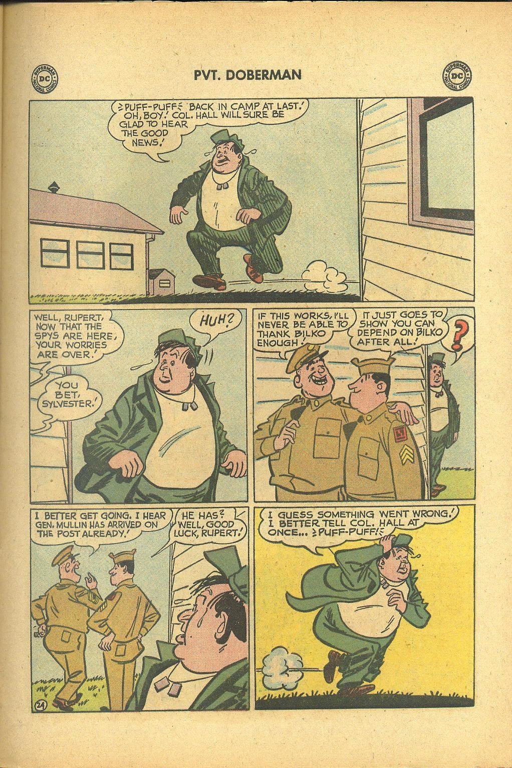 Sgt. Bilko's Pvt. Doberman issue 1 - Page 29