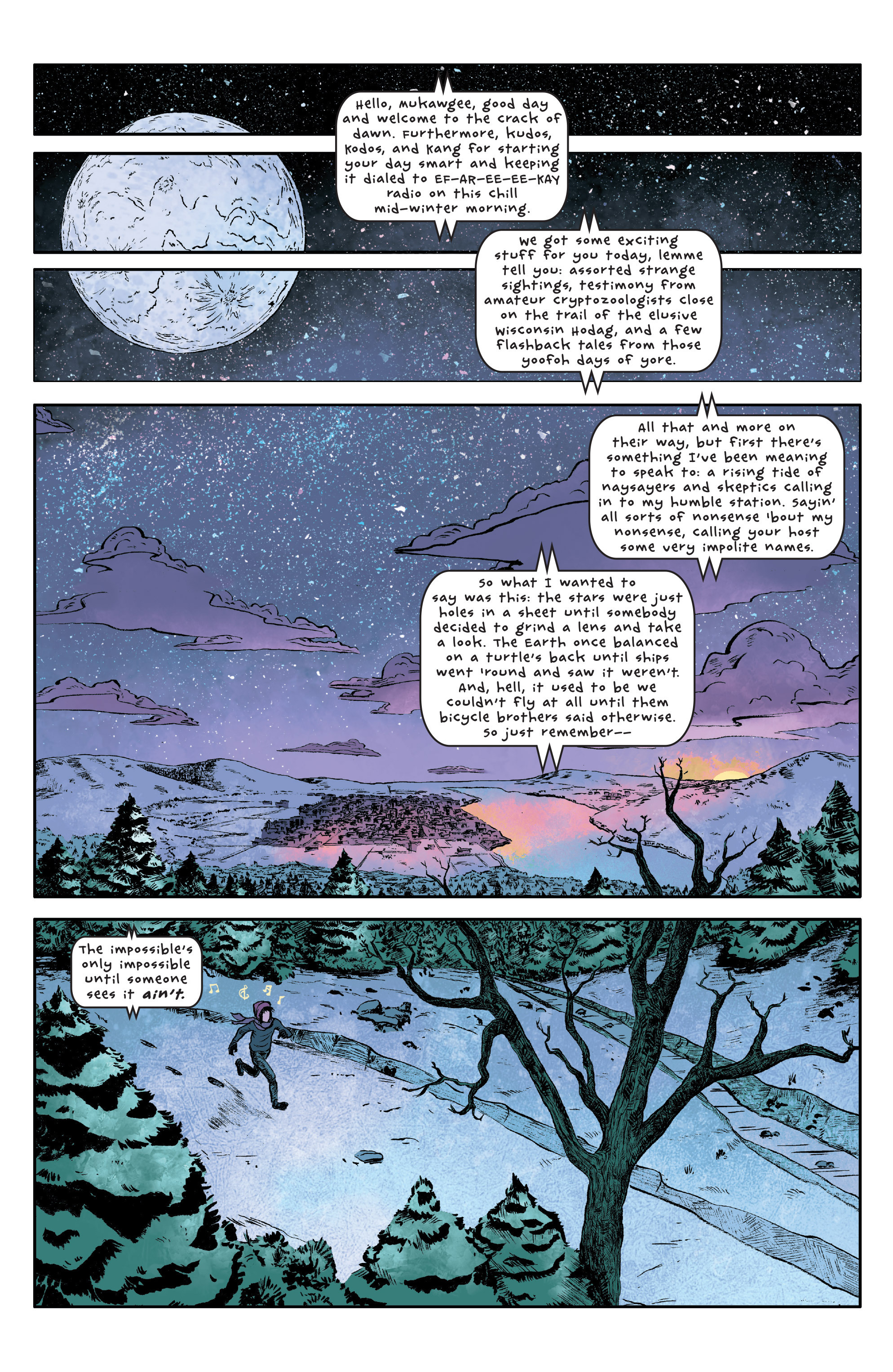 Read online UFOlogy comic -  Issue #1 - 3